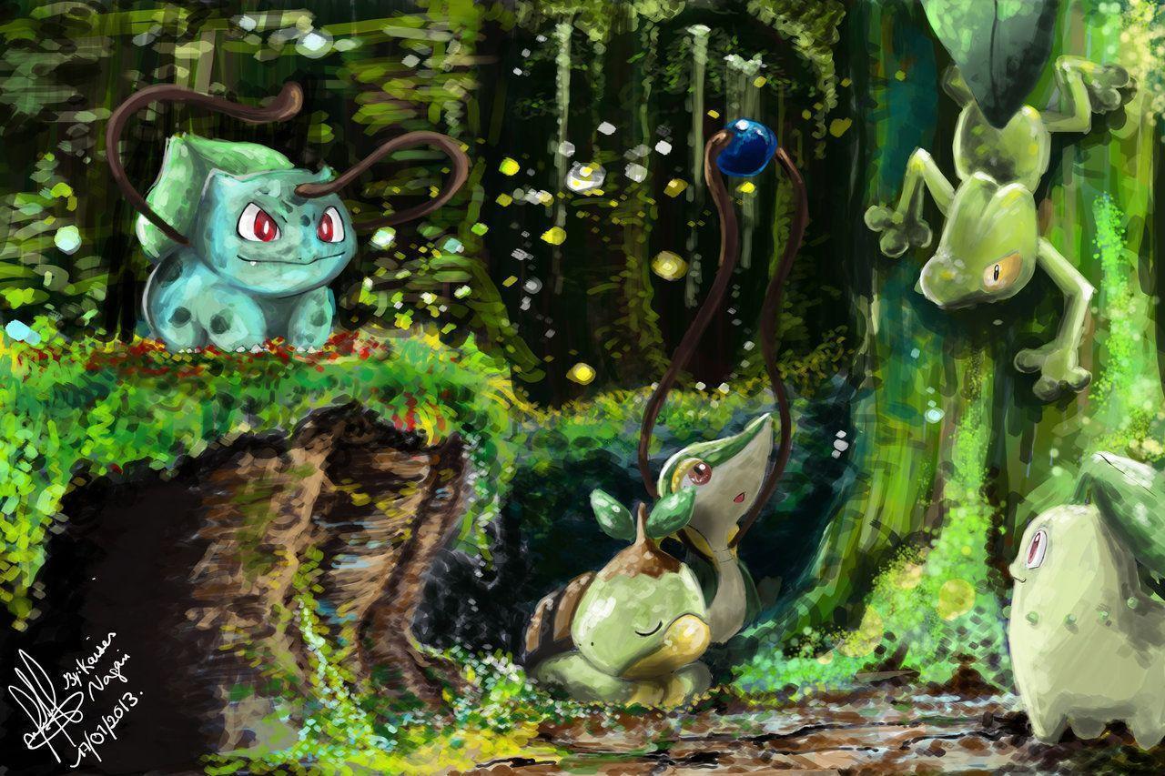 Grass Pokémon Wallpapers - Wallpaper Cave
