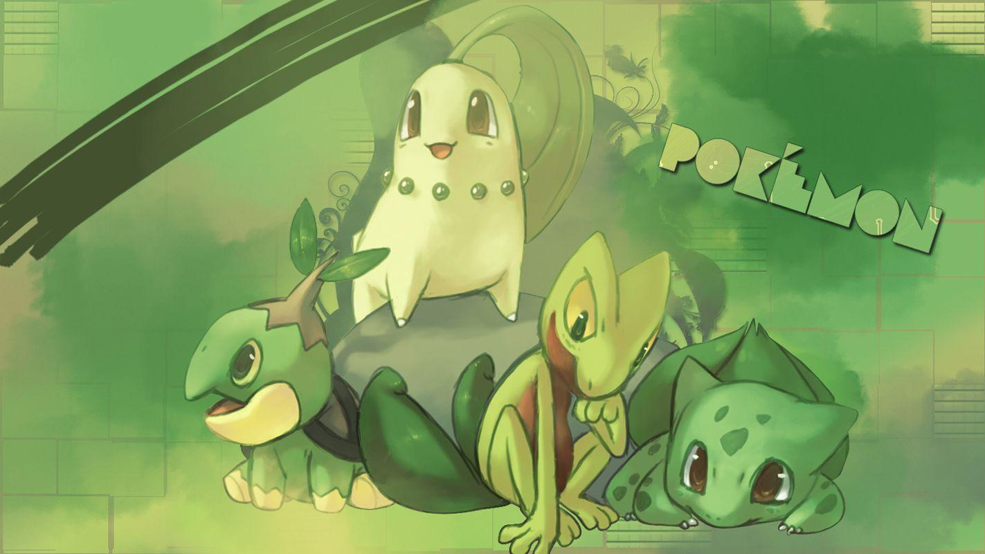 1 Chikorita HD Wallpapers | Background Images - Wallpaper Abyss