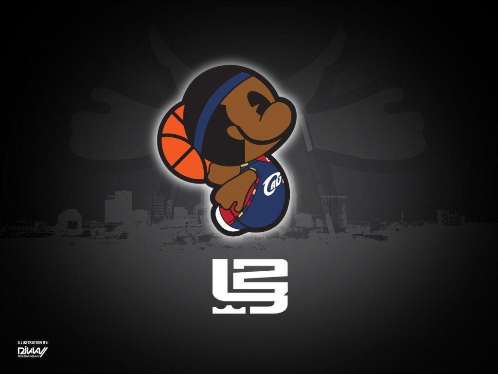 lebron james logo wallpaper - photo #1