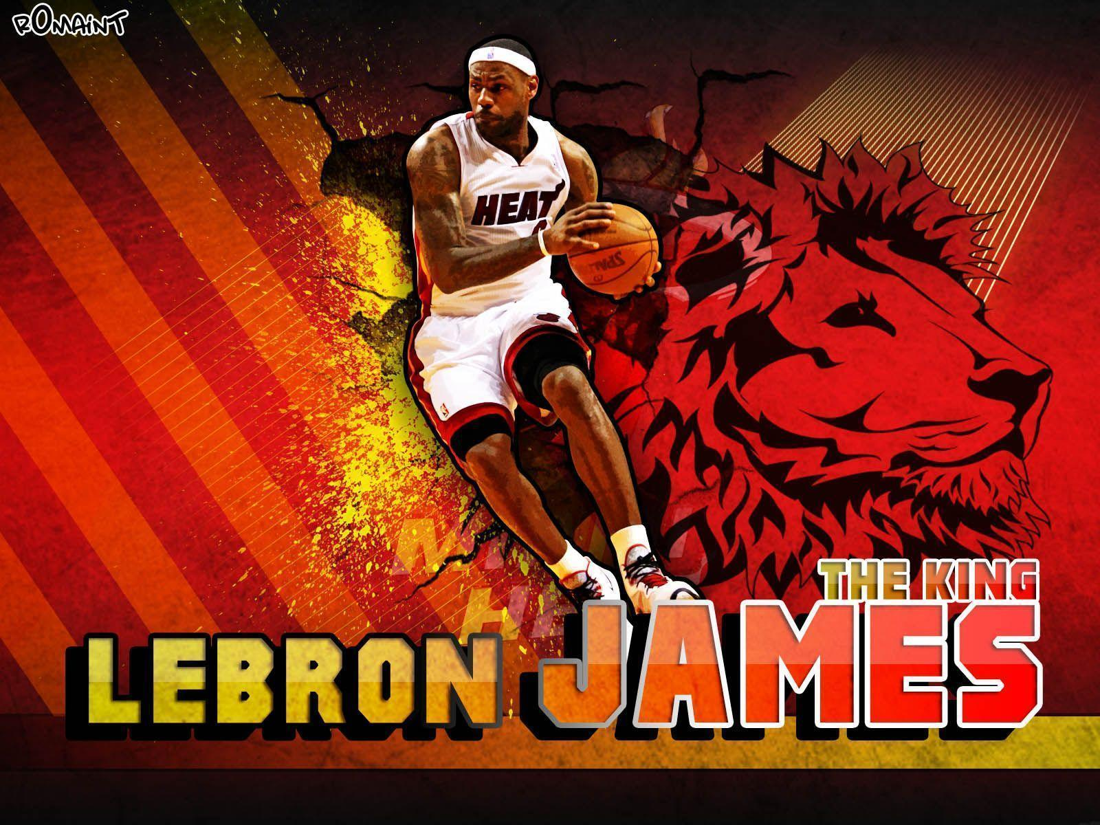 LeBron James Wallpaper Heat, Full HD 1080p, Best HD LeBron James ...
