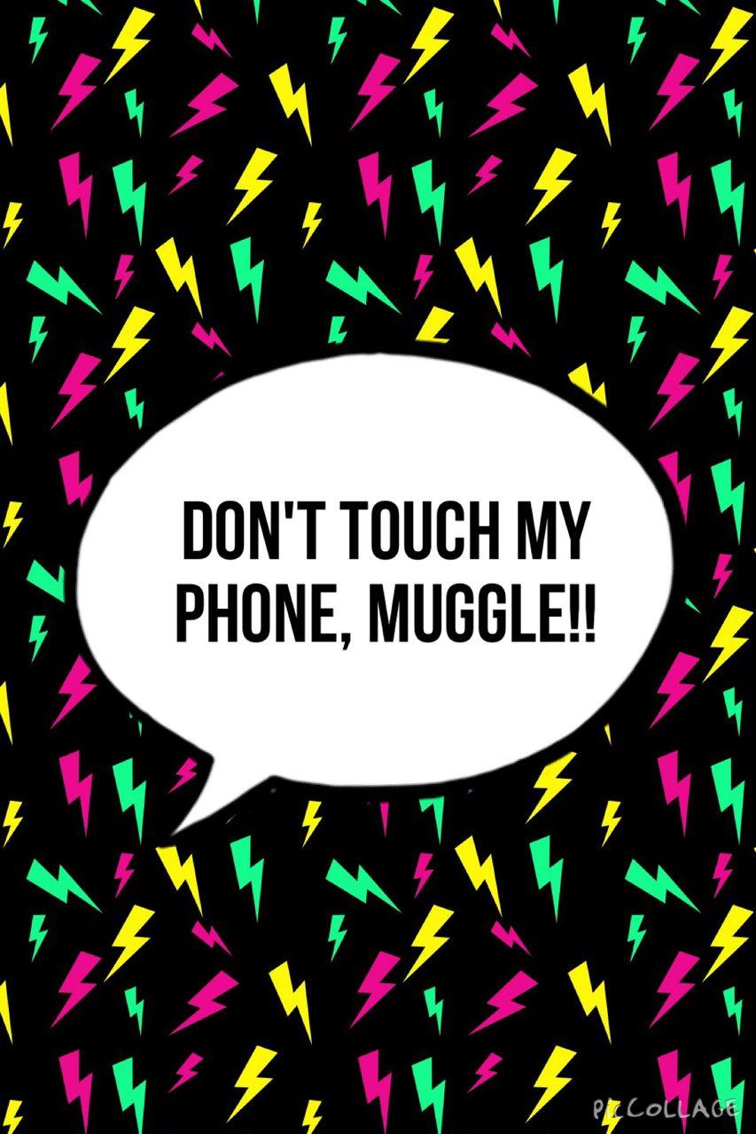 Dont Touch My Phone MUGGLE