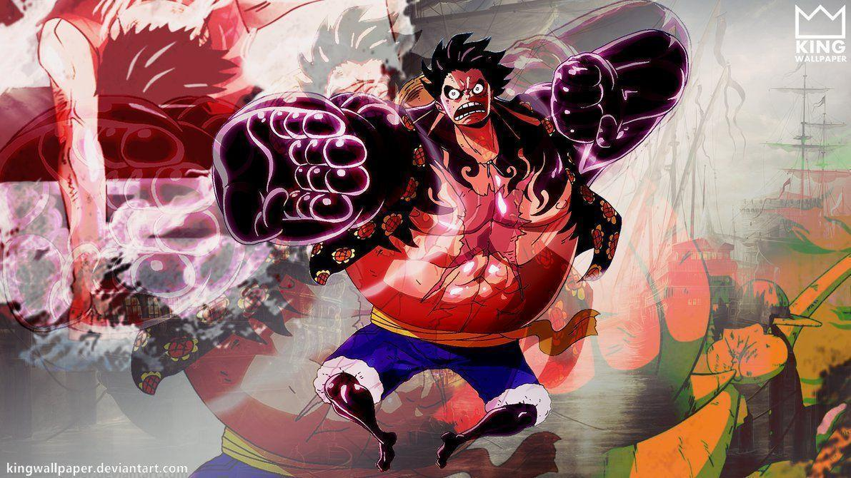 Luffy Gear 4 Wallpapers - Wallpaper Cave