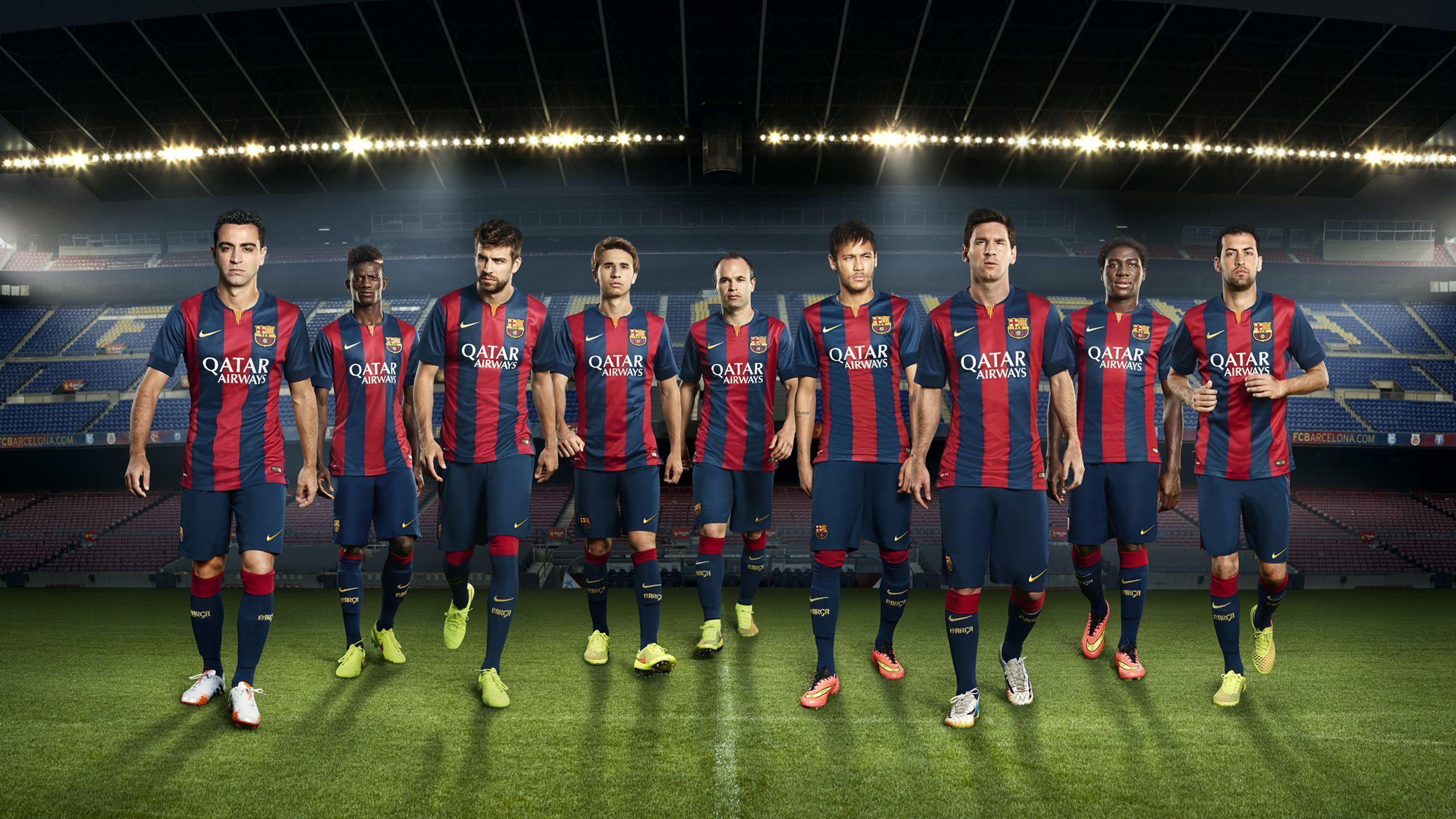 FC Barcelona National Football Team Zoom Background