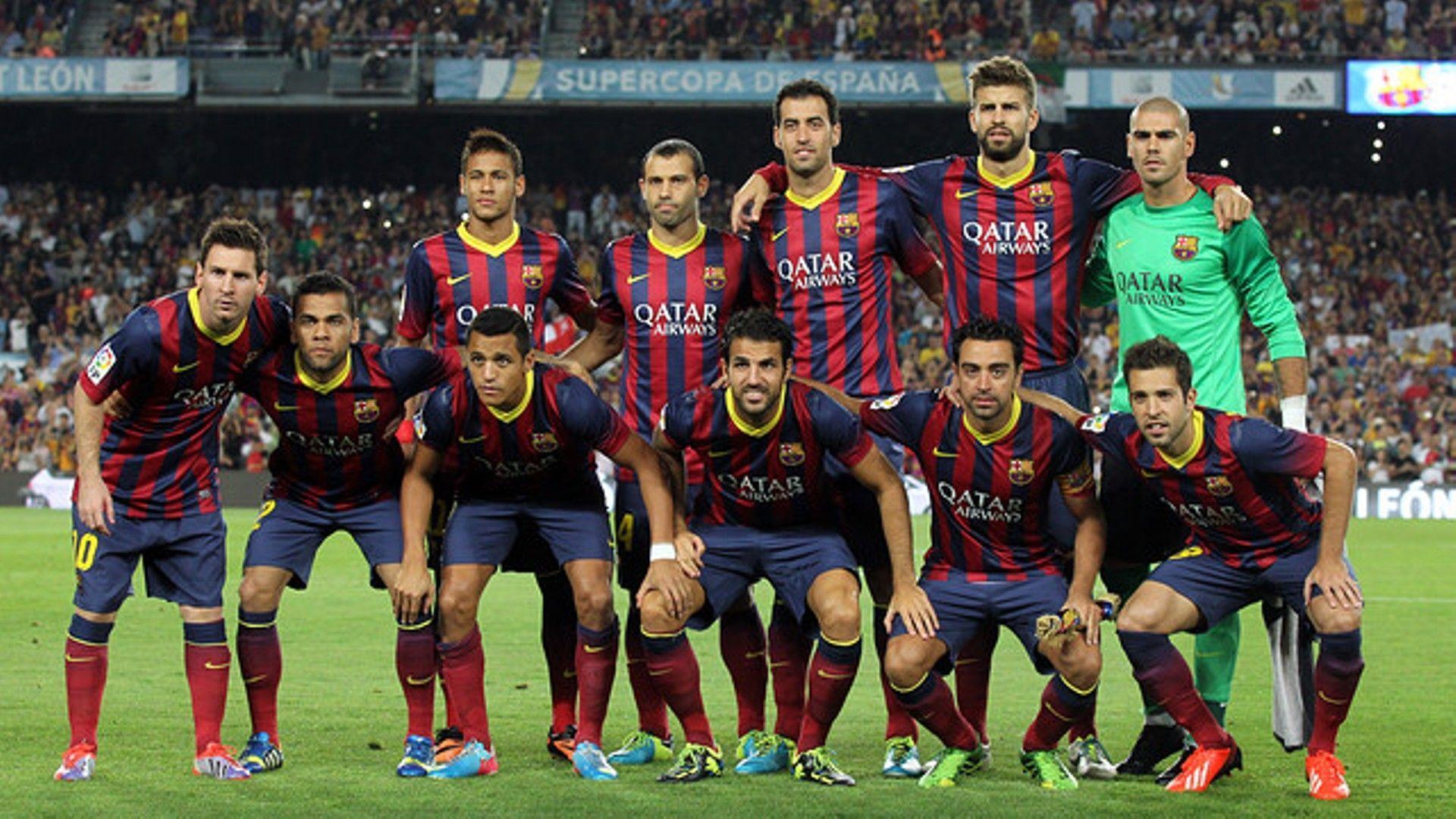 FC Barcelona National Football Team Background 7