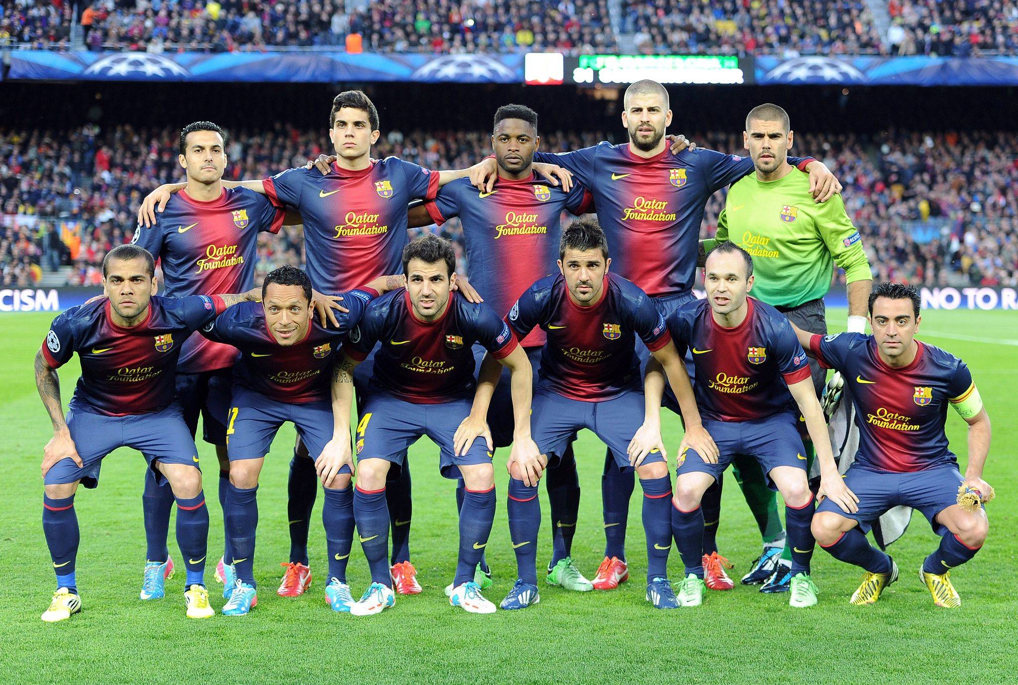 FC Barcelona Champions League Wallpaper