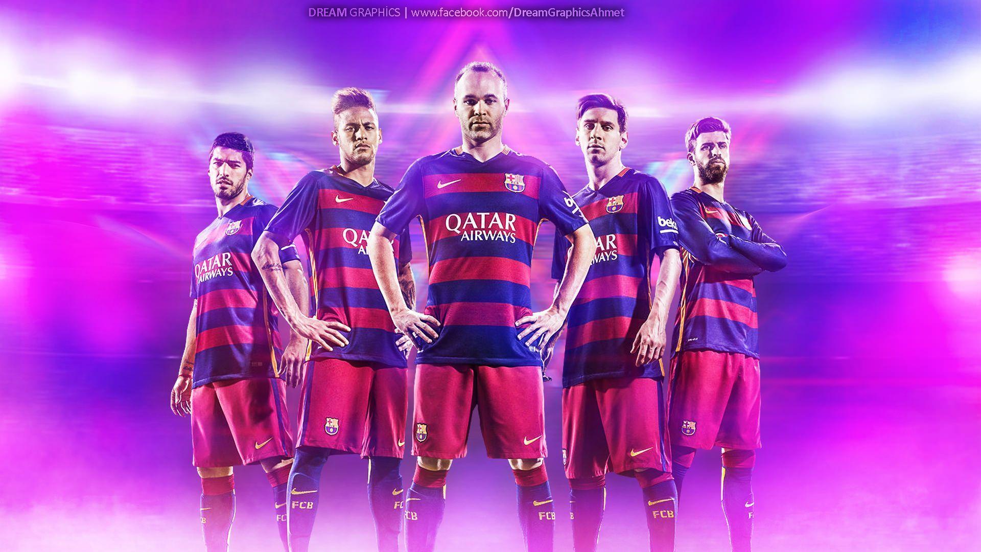 FC Barcelona Team Wallpapers