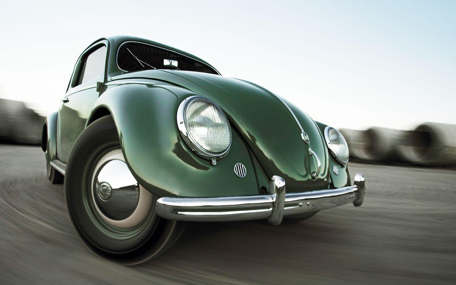 Vintage VW Cars | Volkswagen Beetle Front HD Wallpaper Classic Car ...