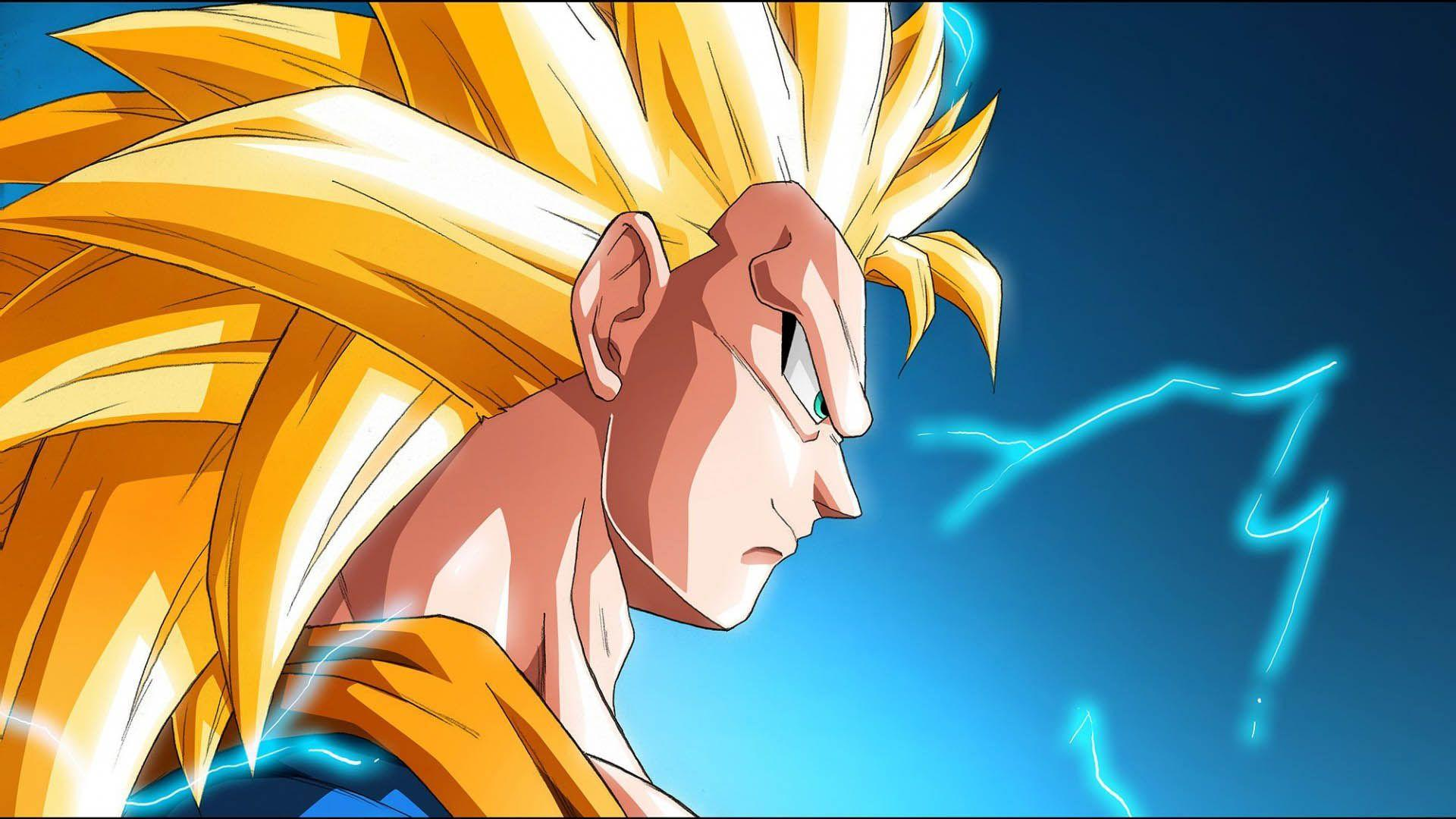 Goku Super Saiyan 3 Wallpapers Wallpaper Cave