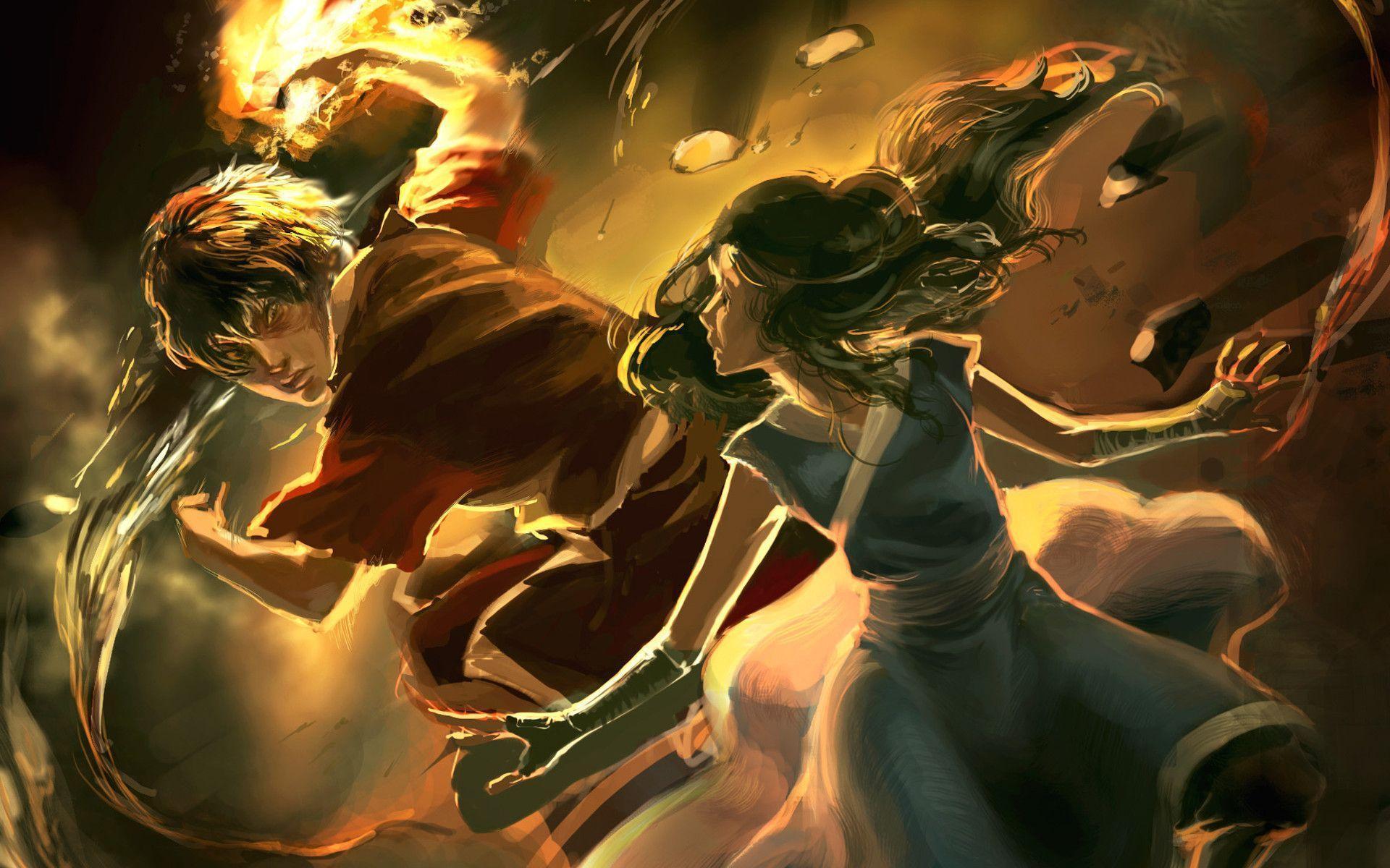 Anime Wallpaper Avatar The Last Airbender Aang