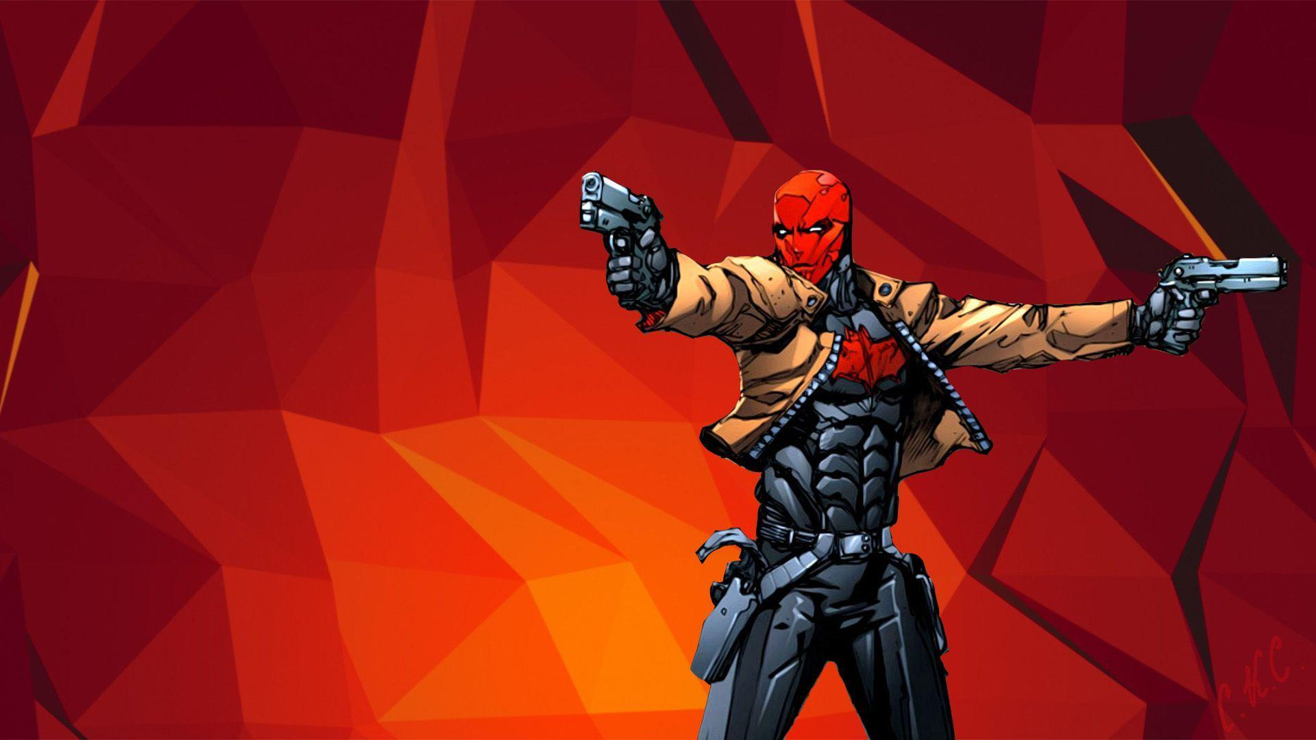 Download Wallpapers Weapons, Guns, Jason Todd, Red Hood, Jason Todd