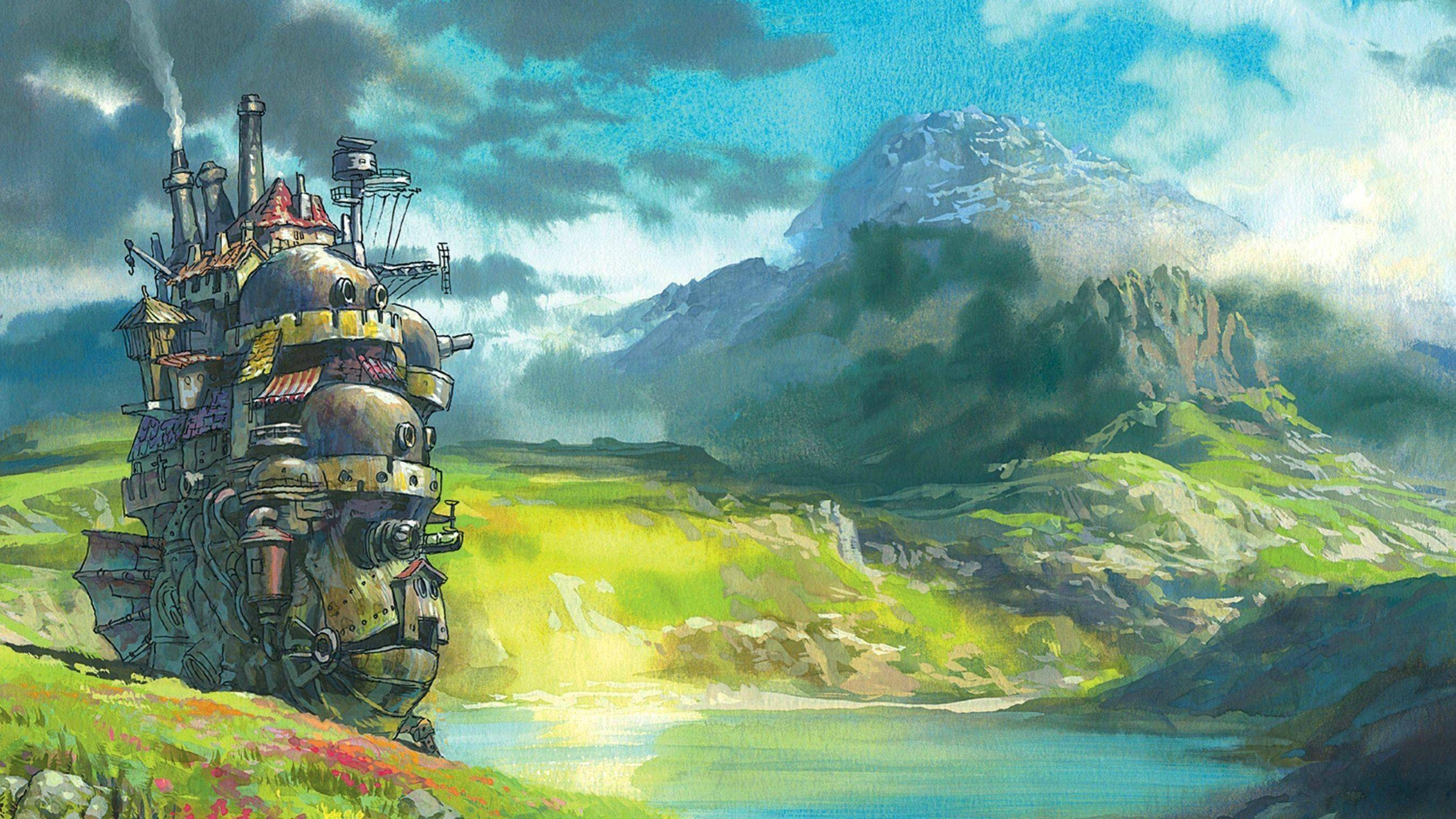 51 Howls Moving Castle HD Wallpapers