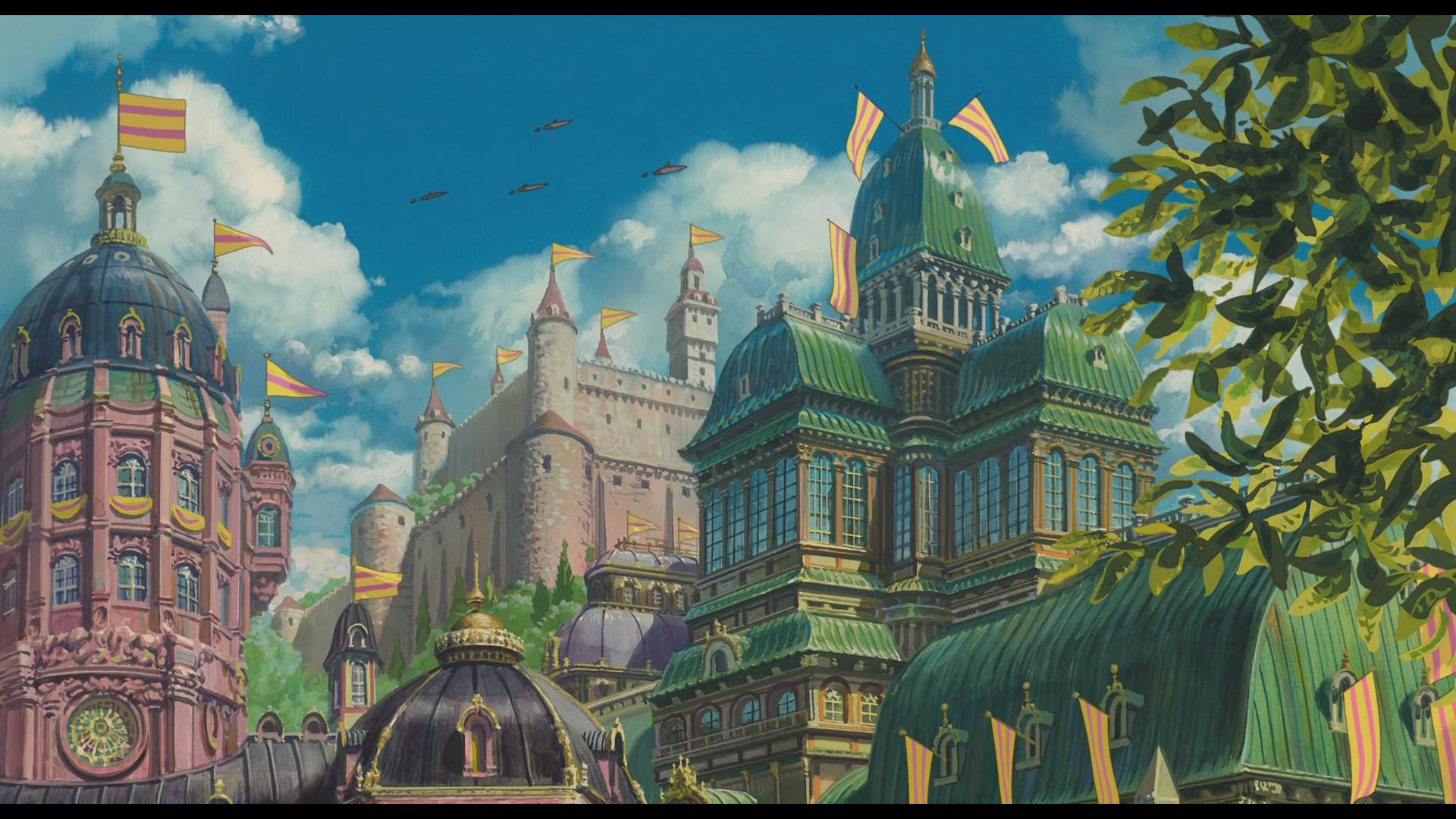 howls moving castle wallpapers wallpaper cave