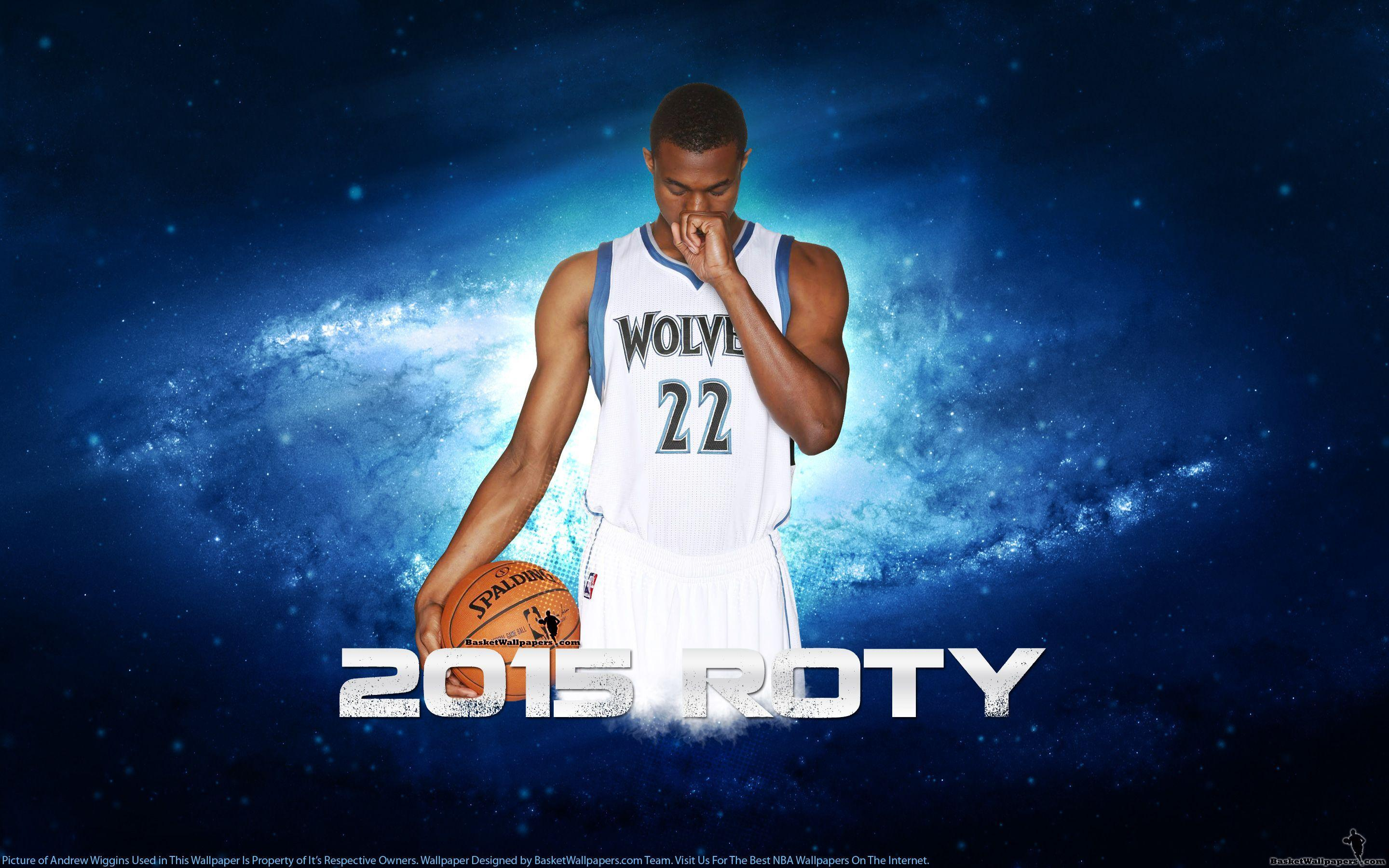 Andrew Wiggins 2015 NBA ROTY Wallpapers