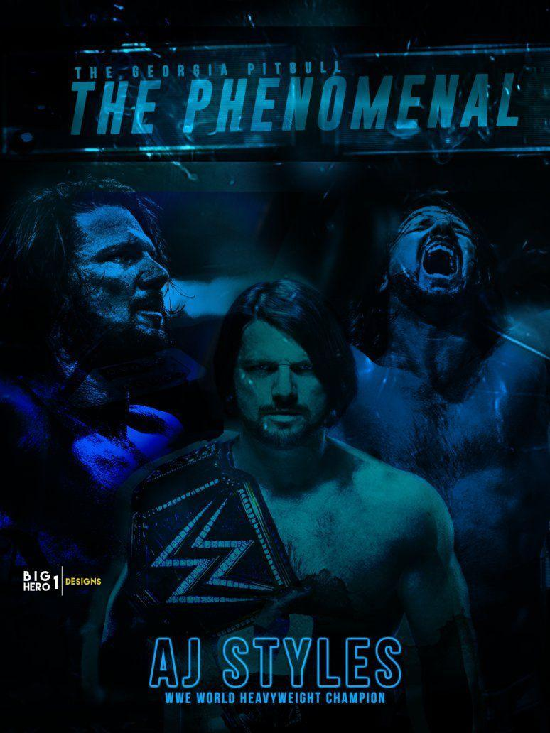 A J Styles Wwe Wallpapers Wallpaper Cave