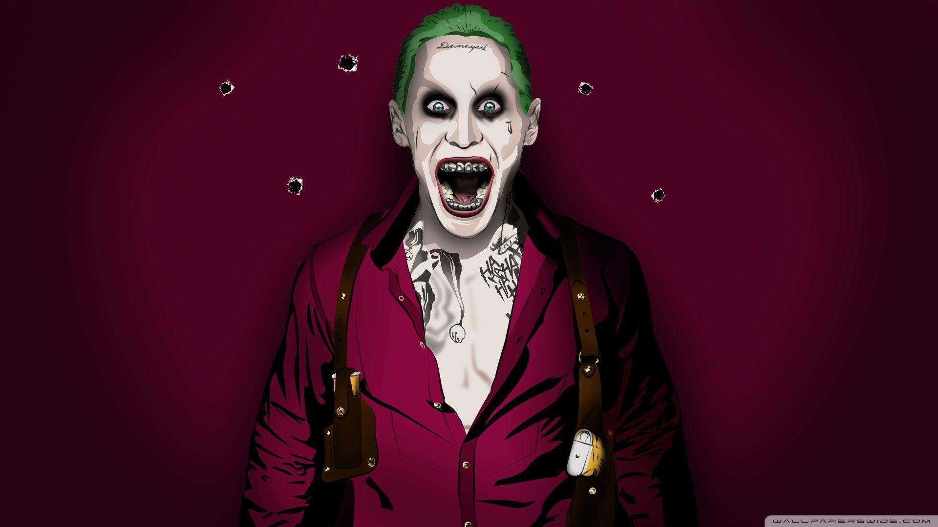 Jared leto joker wallpapers wallpaper cave for Joker wallpaper 4k