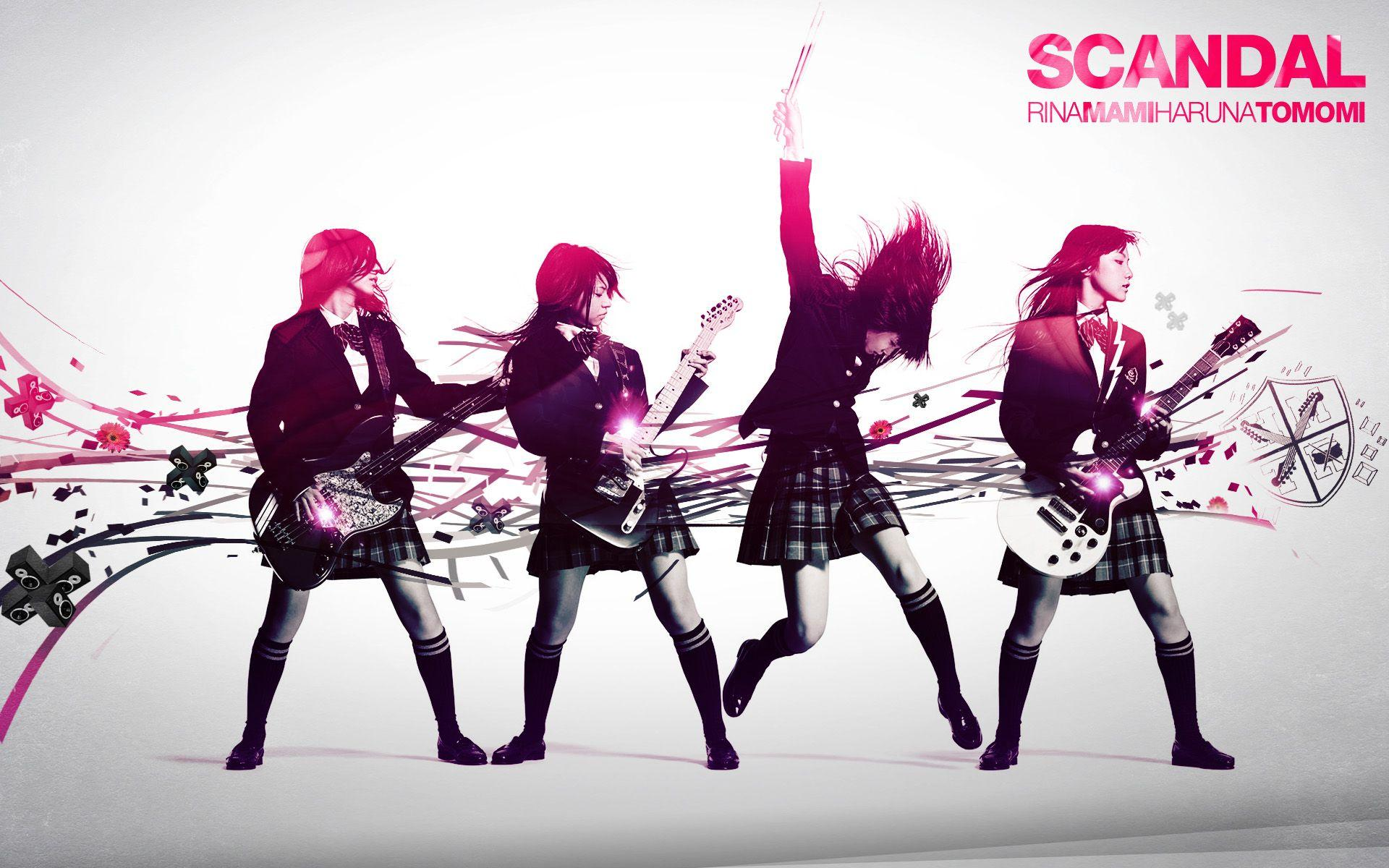 scandal jpop hd