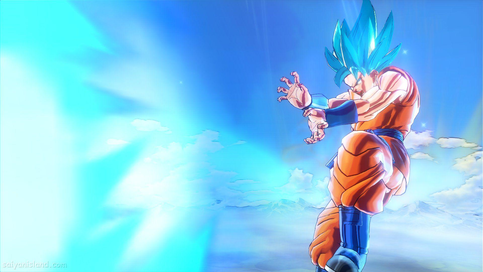 Goku Blue Wallpapers
