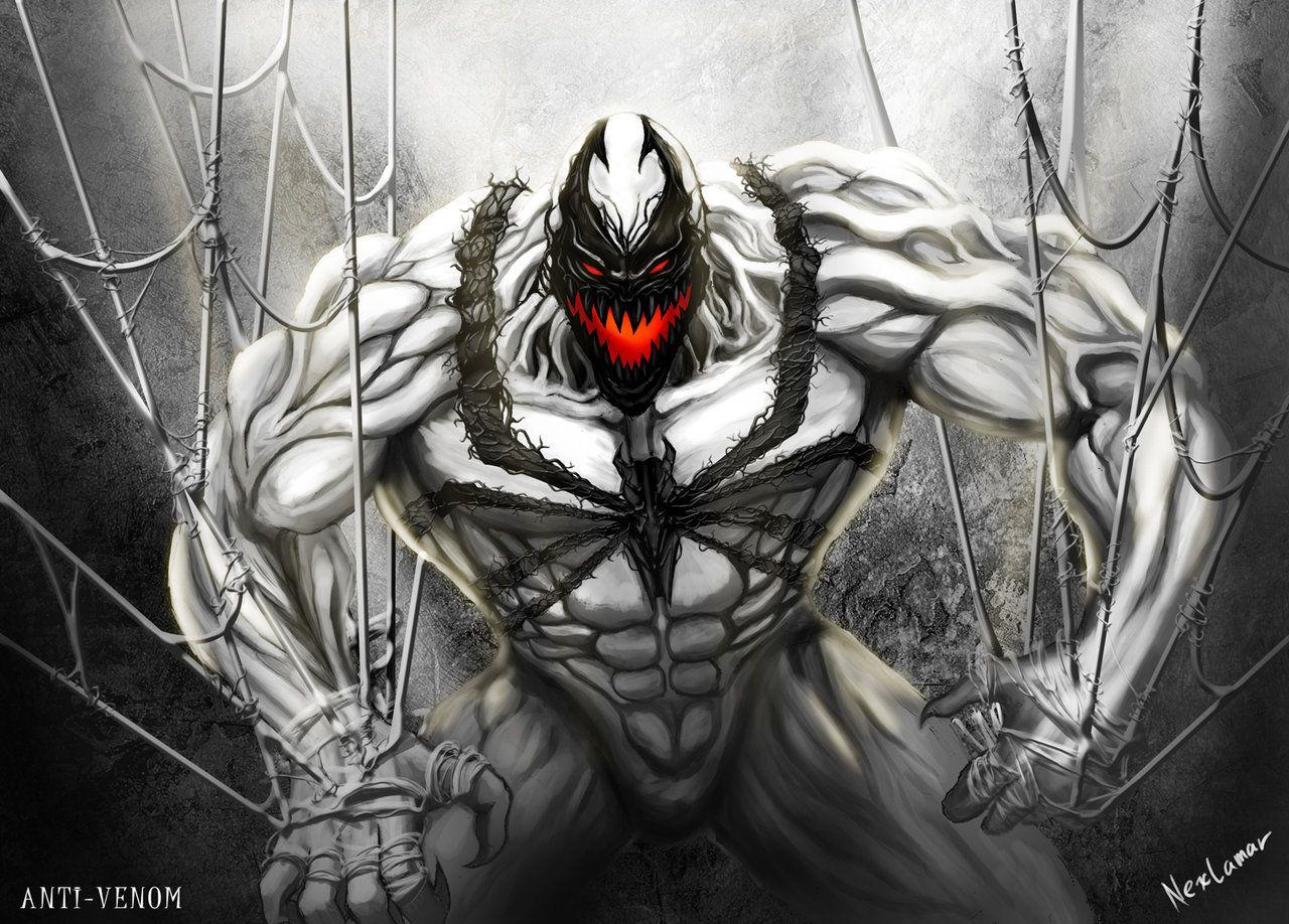 Anti venom marvel vs venom