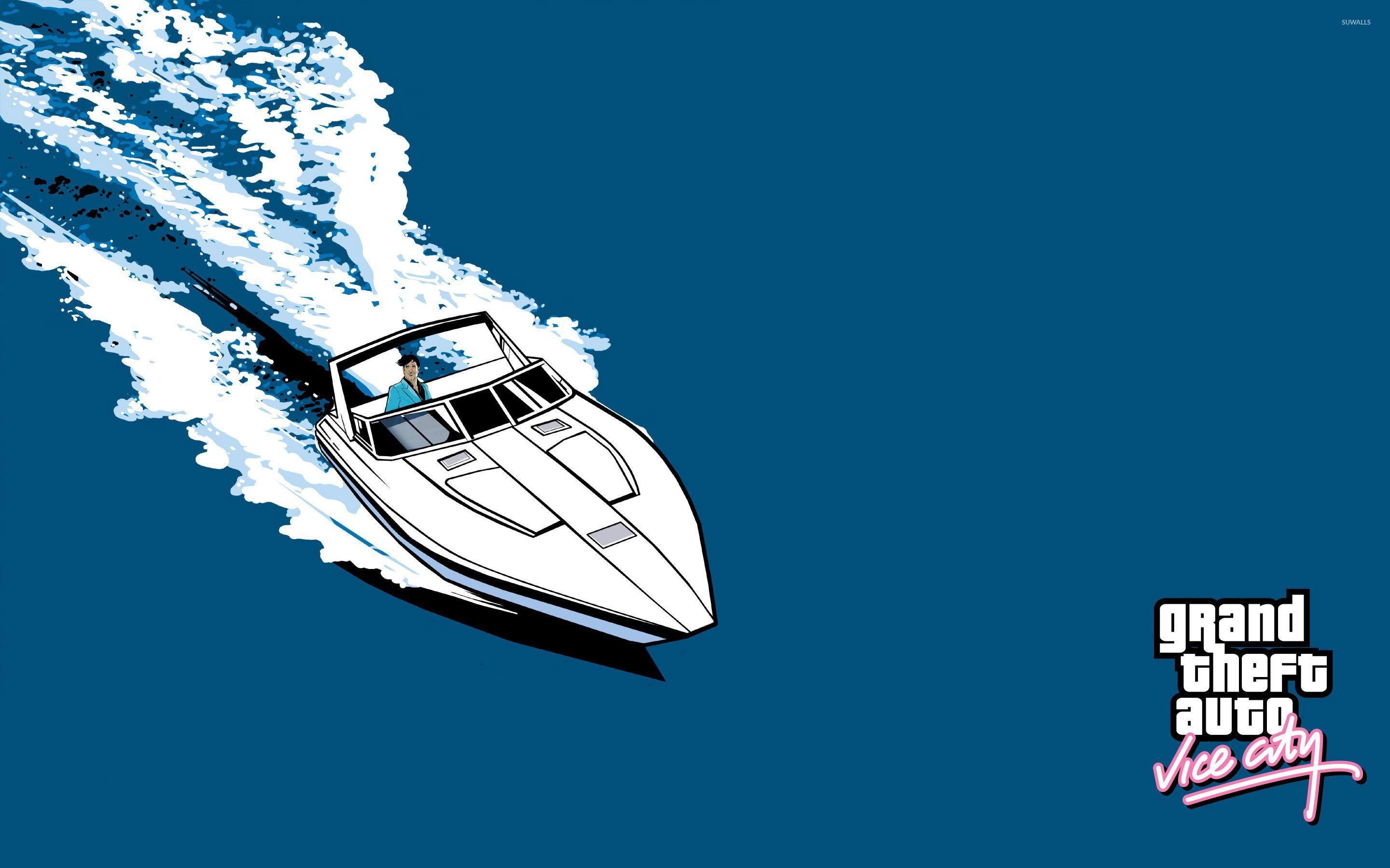 Yacht ride in Grand Theft Auto: Vice City wallpaper - Game ...
