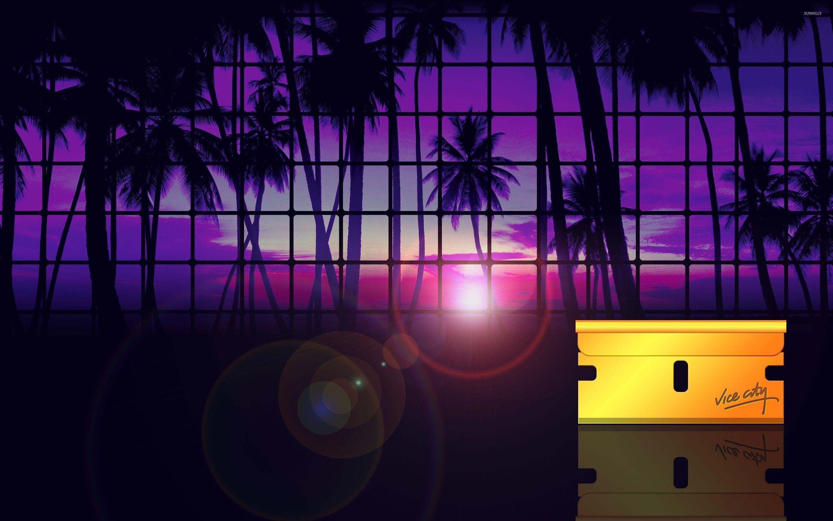 Grand Theft Auto: Vice City sunset wallpaper - Game wallpapers ...