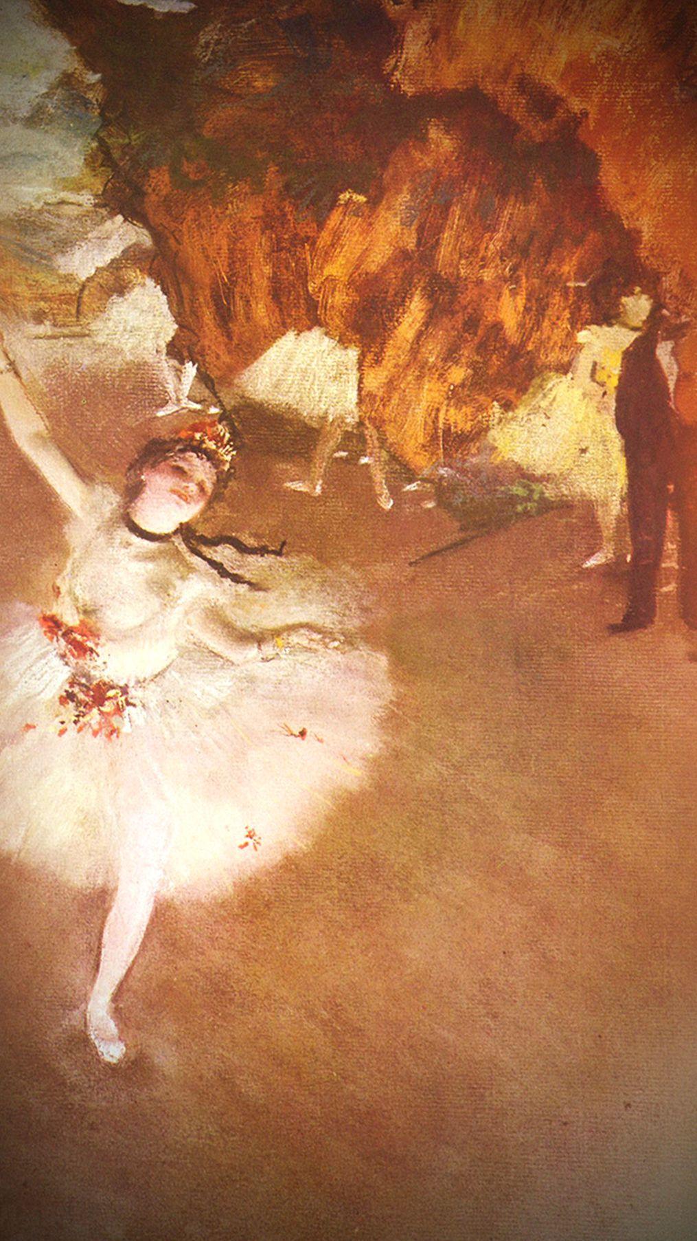 Famous Degas Ballerina Paintings