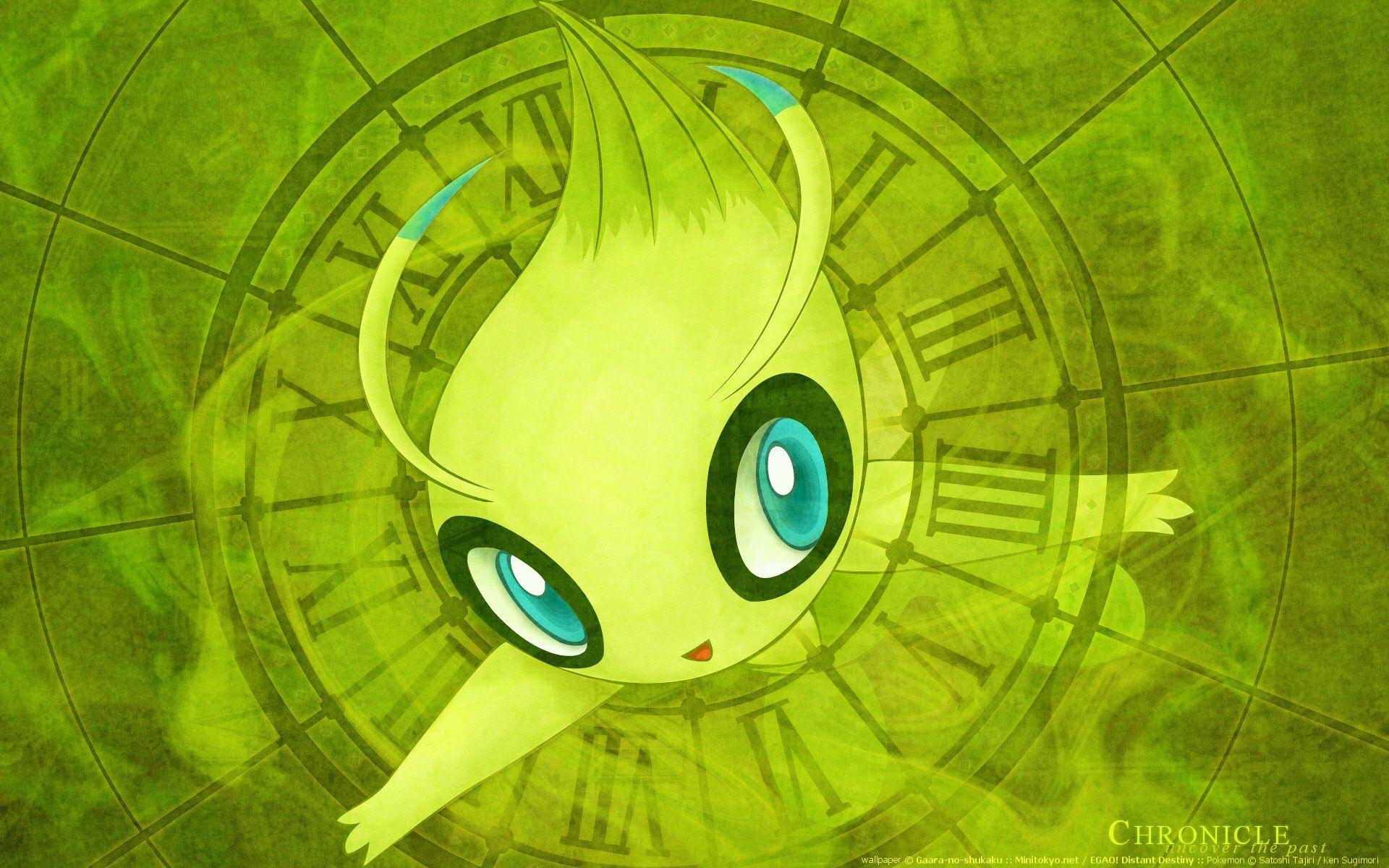 13 Celebi (Pokémon) HD Wallpapers | Background Images - Wallpaper Abyss