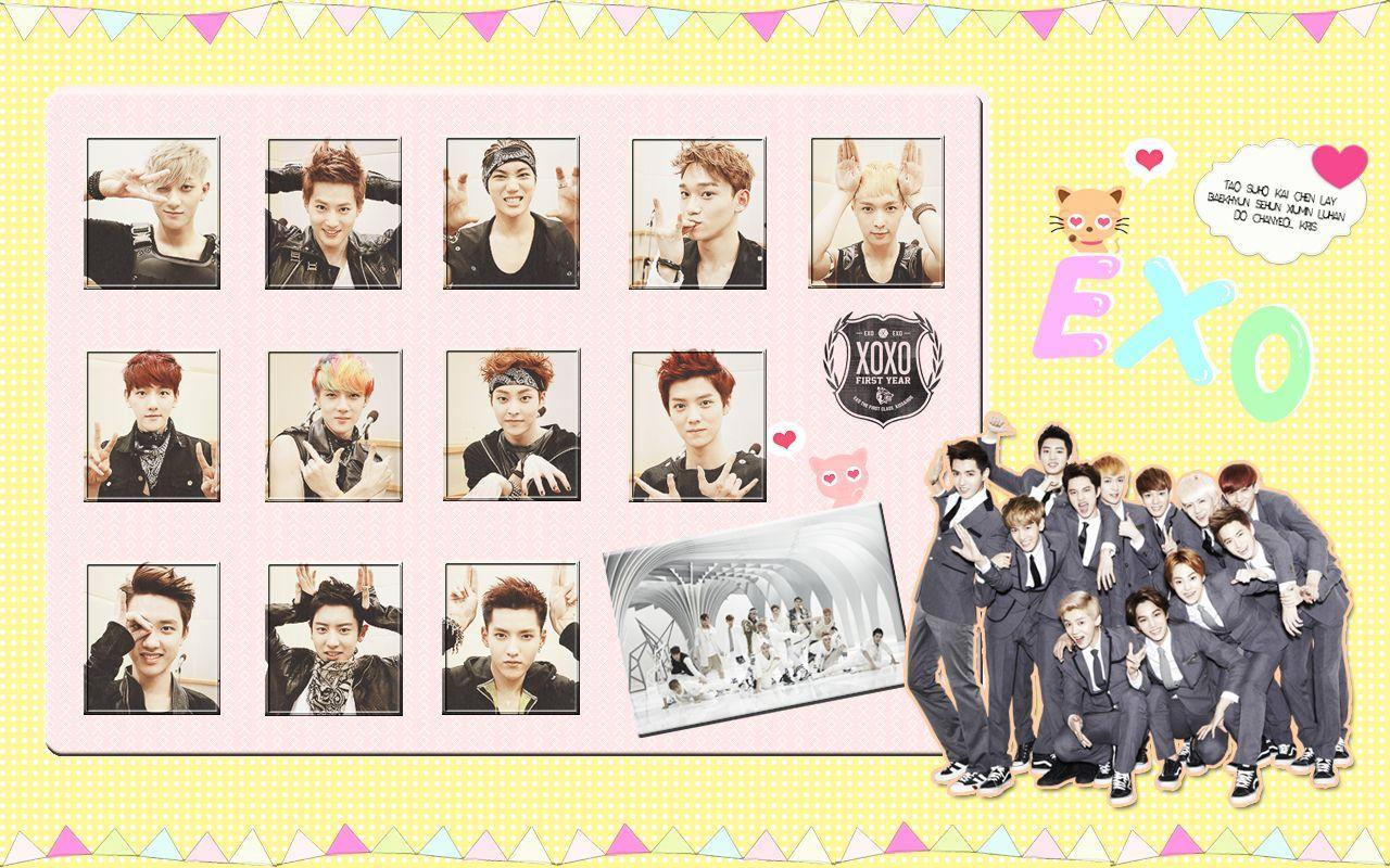 Exo Xoxo Wallpaper Desktop