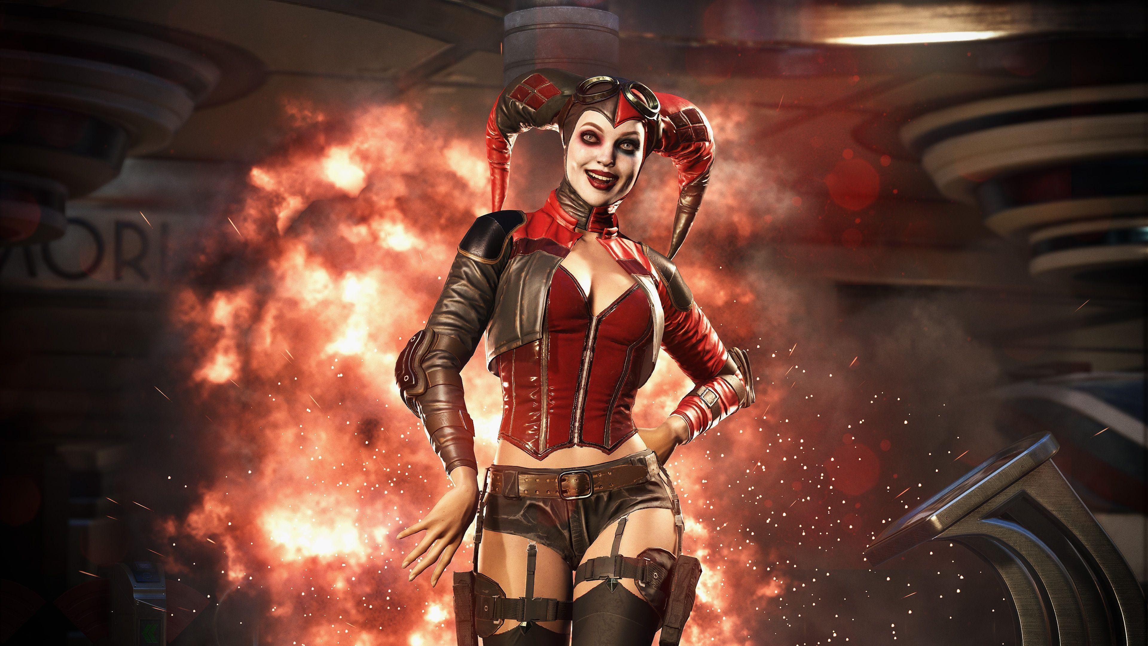 Harley Quinn Supervillain Wallpapers Wallpaper Cave