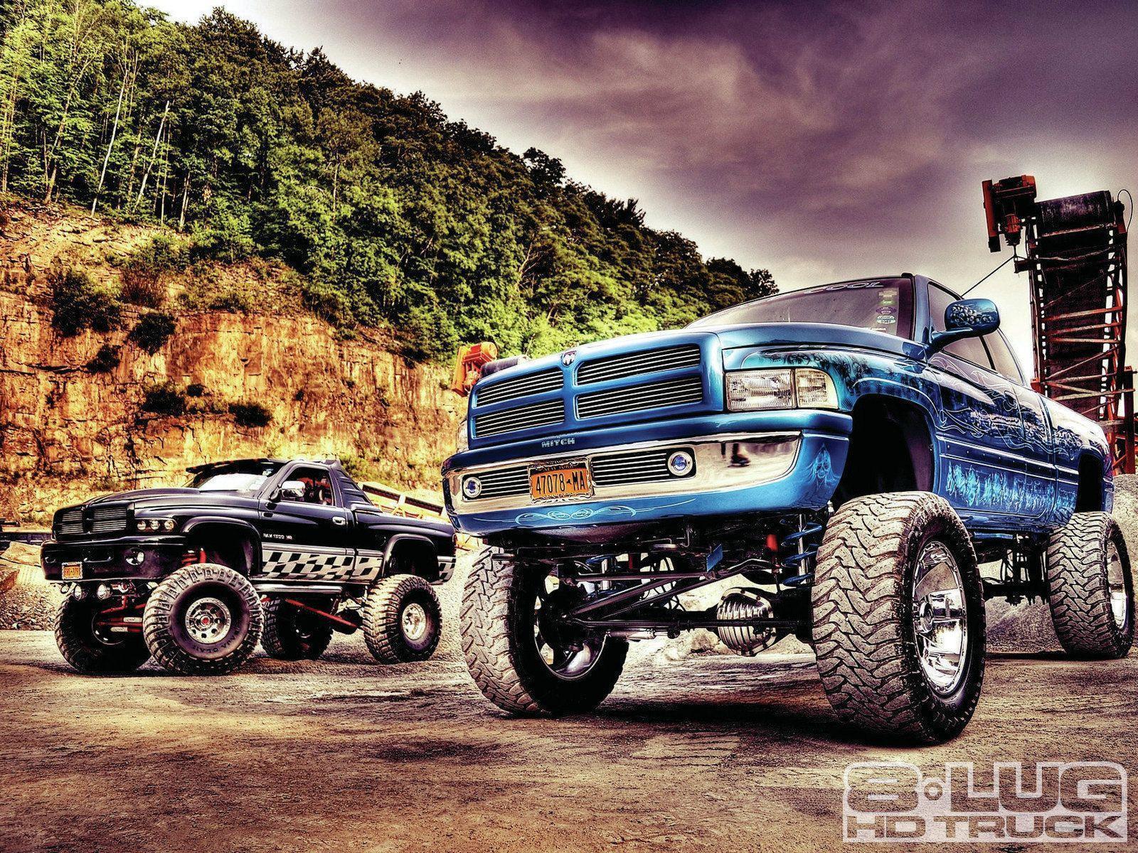 diesel truck wallpaper  Lifted Trucks Wallpapers - Wallpaper Cave