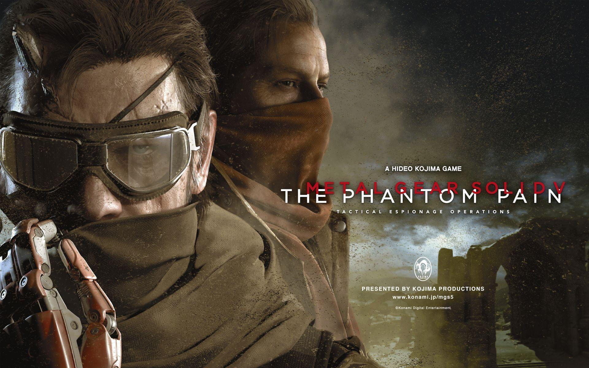 Metal Gear Solid V The Phantom Pain Wallpapers | HD Wallpapers