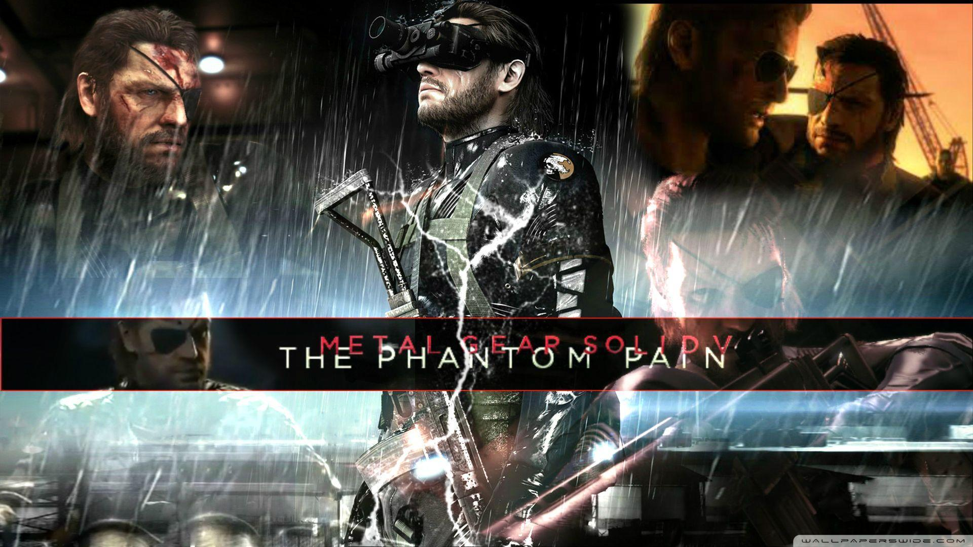 Video Game - Metal Gear Solid V: The Phantom Pain Wallpaper ...