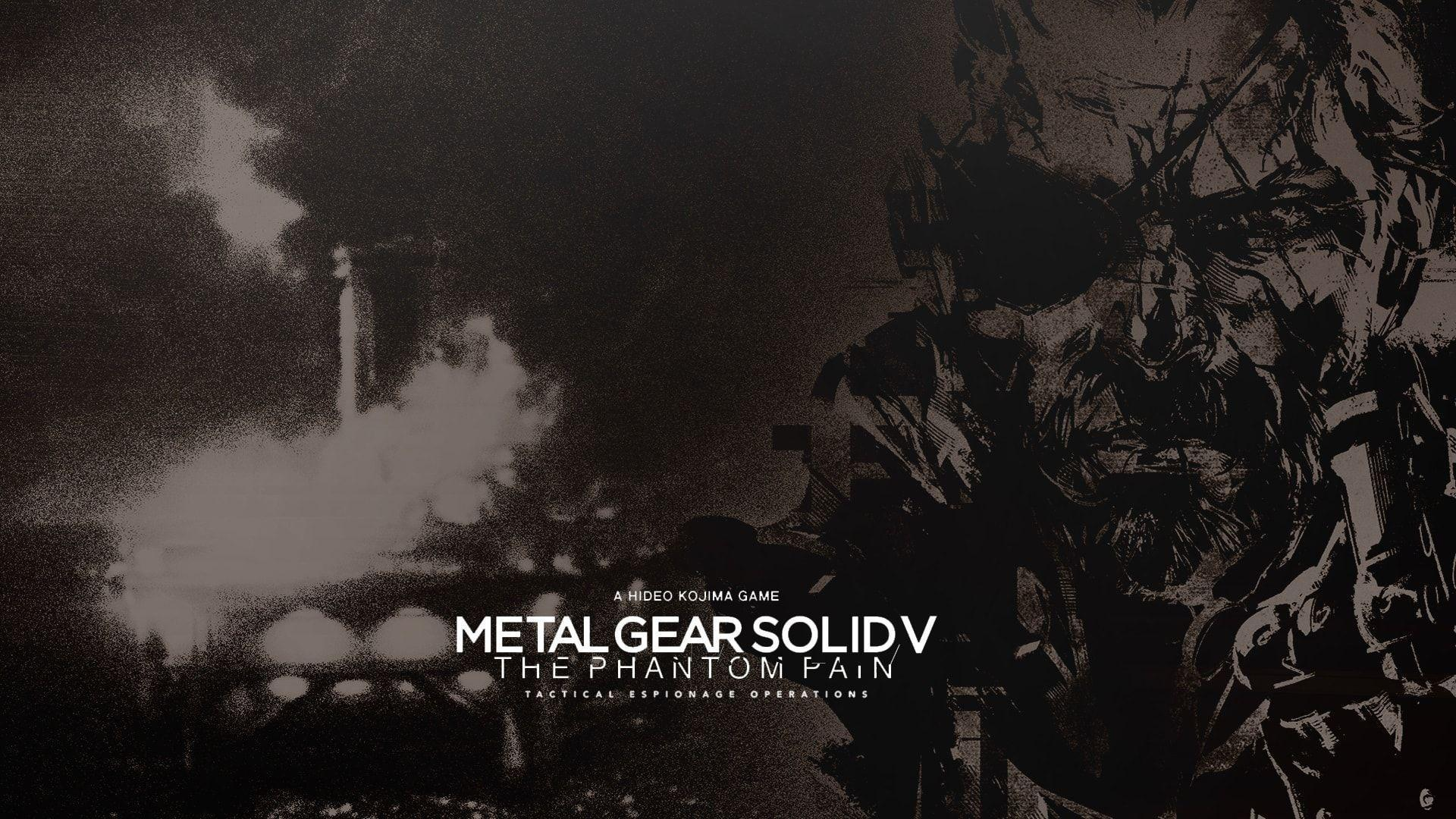 Metal Gear Solid V: The Phantom Pain HD Desktop Wallpapers ...