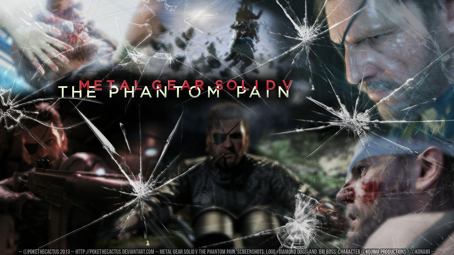 Metal Gear Solid V The Phantom Pain Wallpapers Wallpaper Cave