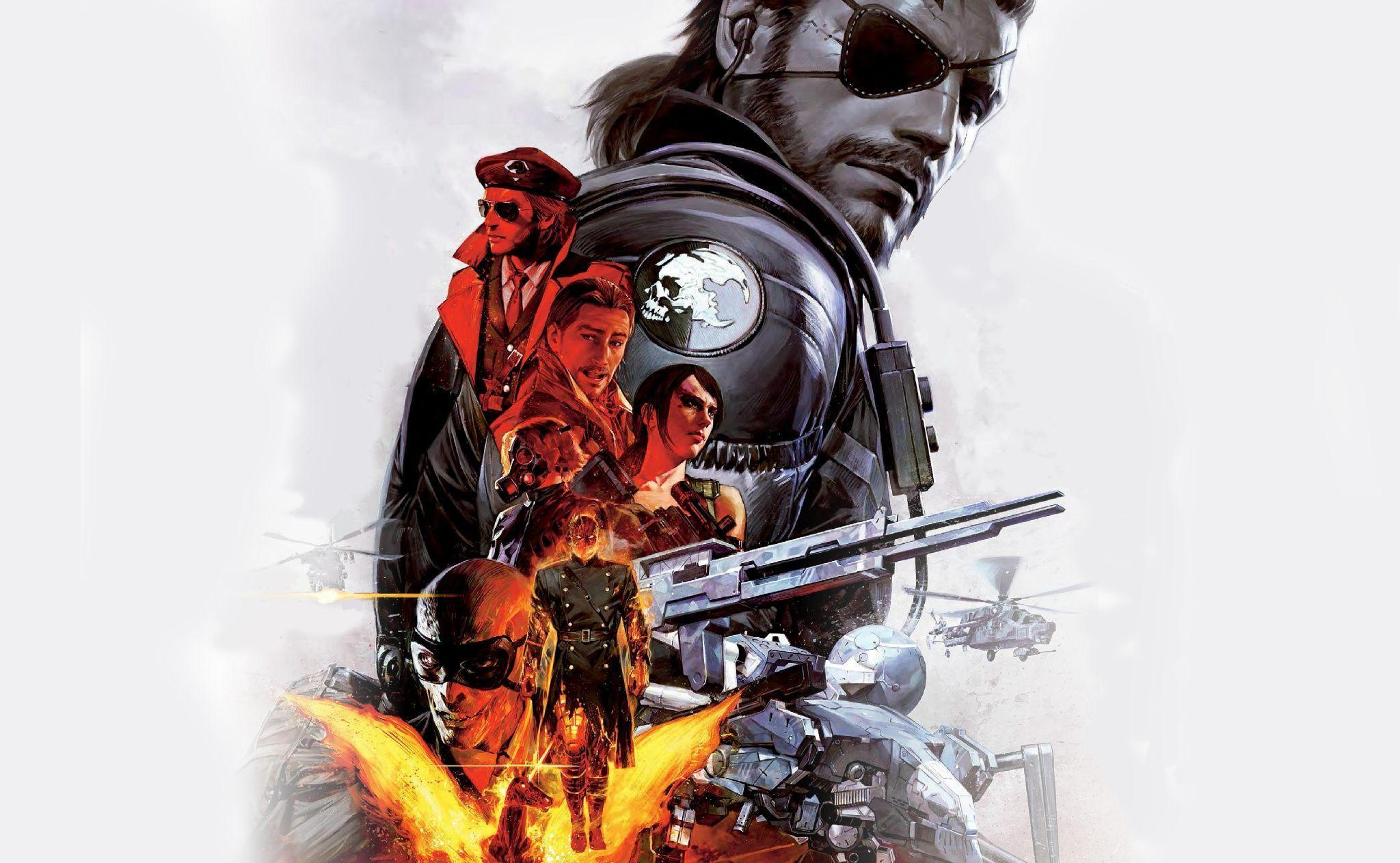 80 Metal Gear Solid V: The Phantom Pain HD Wallpapers ...