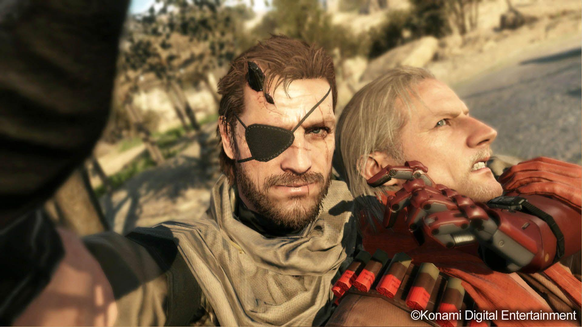 Big Boss & Ocelot Scene - Metal Gear Solid V: The Phantom Pain ...