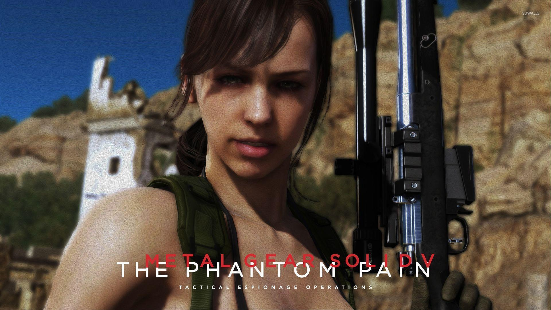 Big Boss in Metal Gear Solid V: The Phantom Pain wallpaper - Game ...