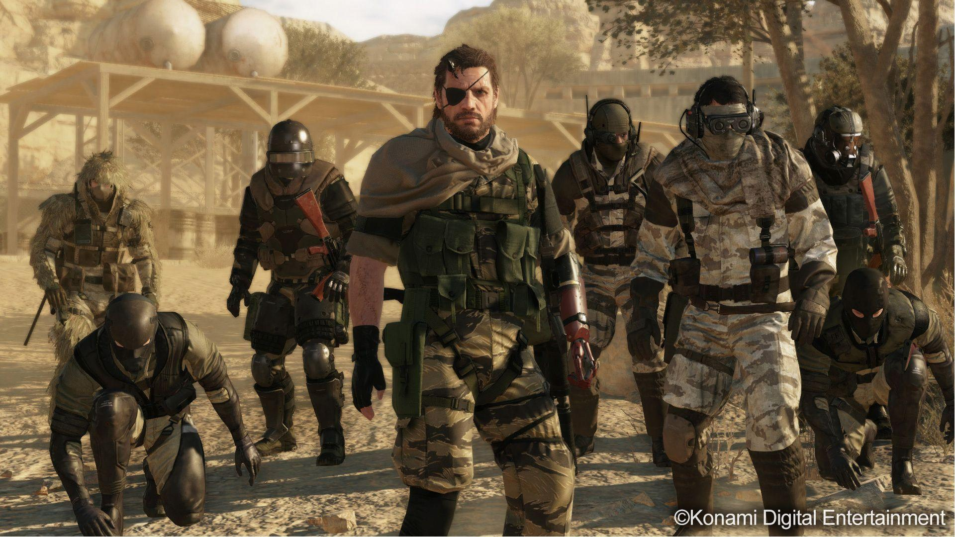 Metal Gear Solid V: The Phantom Pain Full HD Wallpapers and