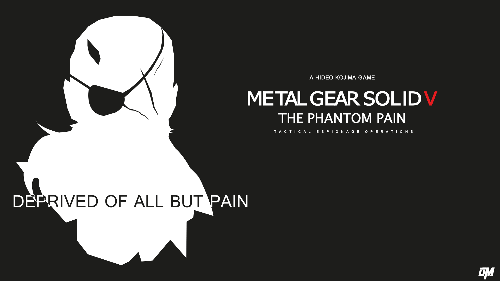 Metal Gear Solid V The Phantom Pain BLACK VERSION by OscarManzi on ...