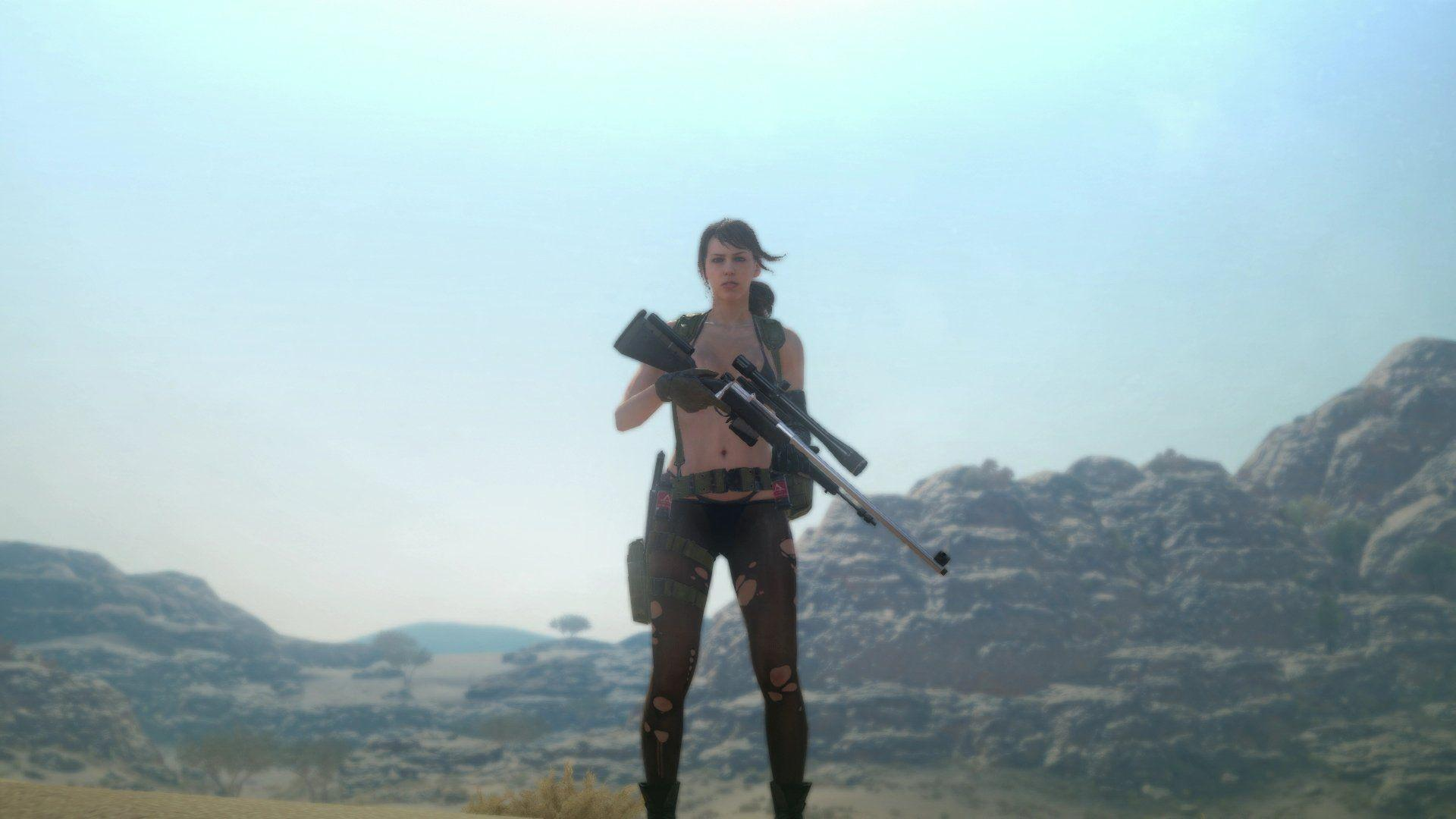 10 Quiet (Metal Gear Solid) HD Wallpapers | Backgrounds ...