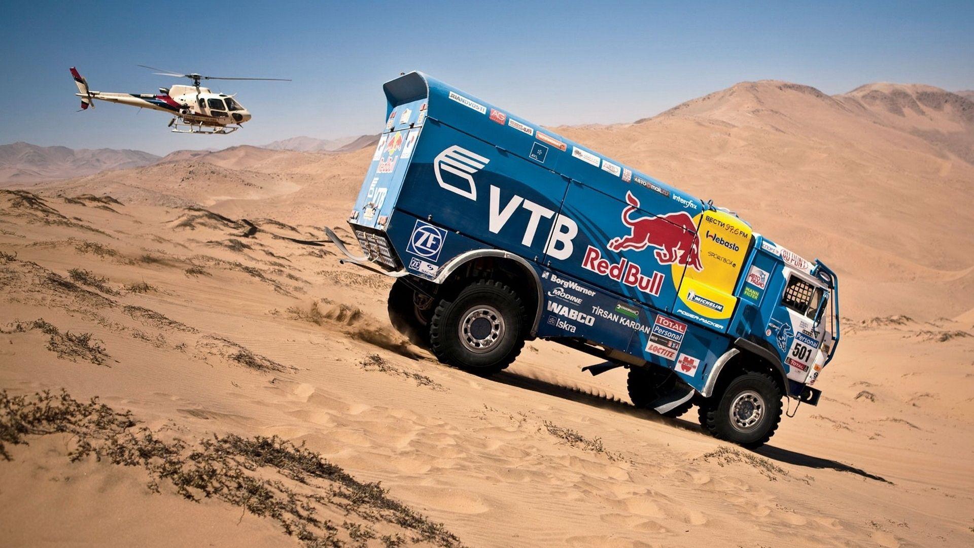Awesome Truck Rally Dakar Wallpaper #1742 Wallpaper Themes ...