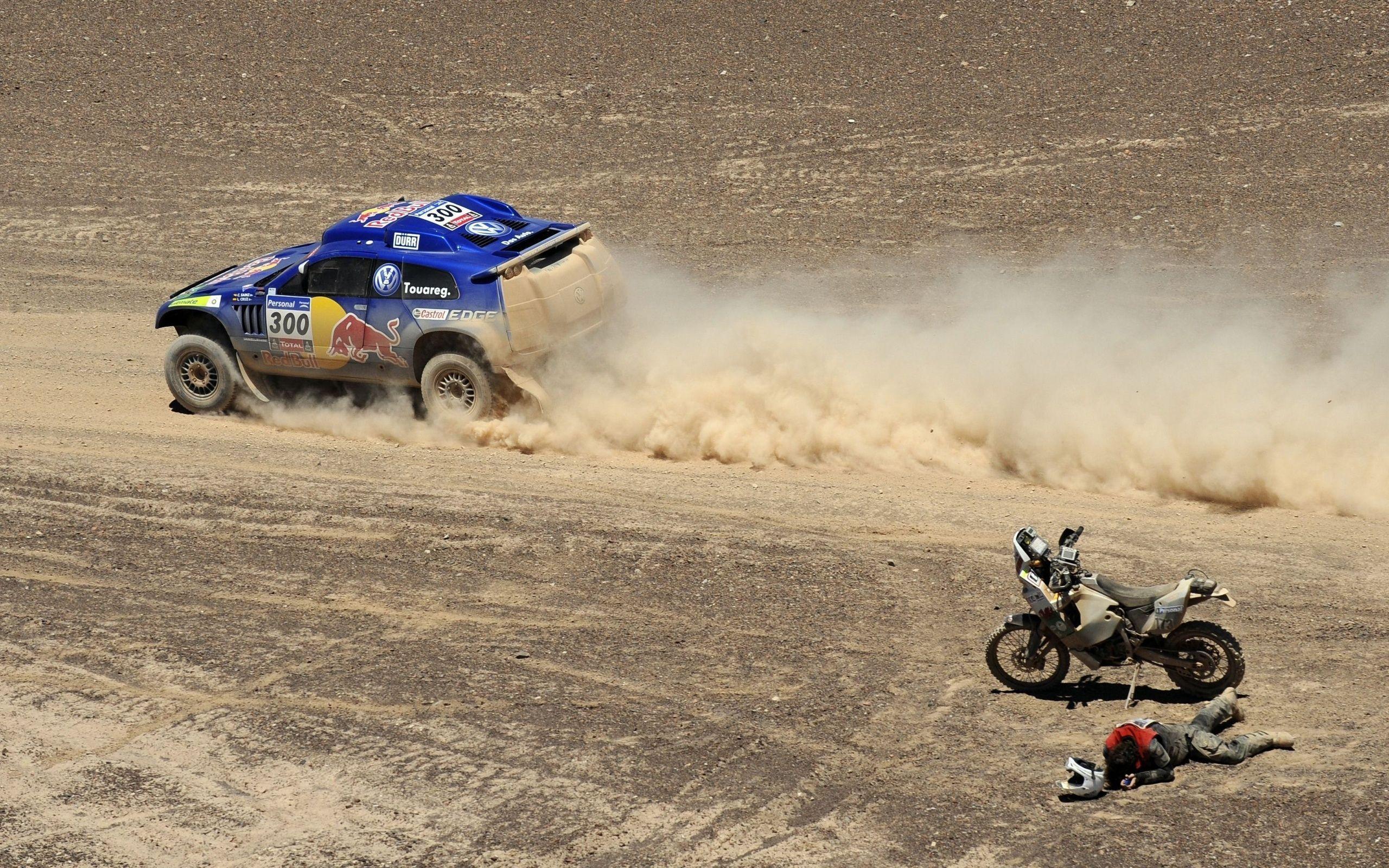 2560x1600 Race, Dakar, Volkswagen, Sports, Motorcycle, Dakar, The ...