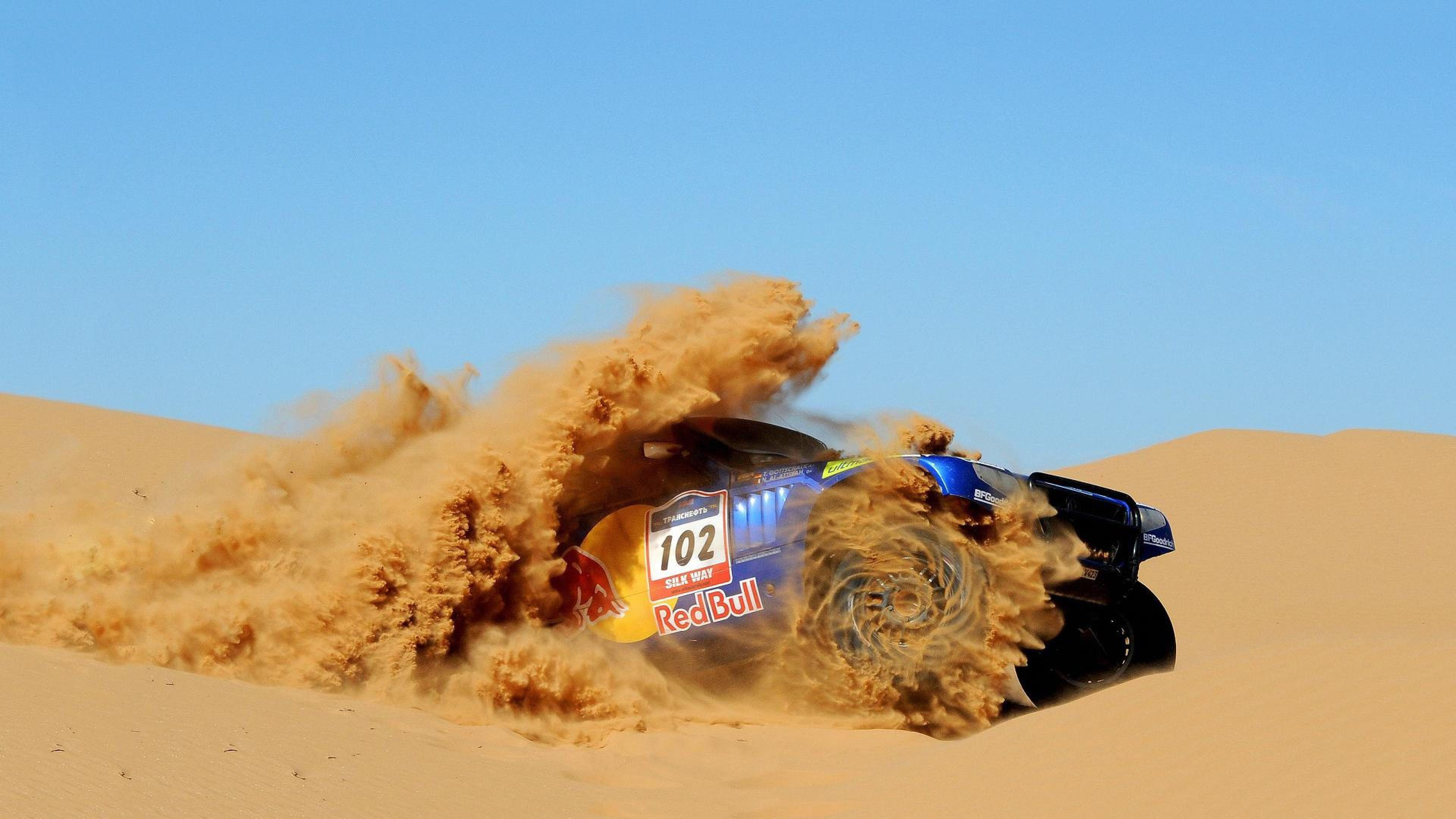 Dakar rally Red bull Sand Rally cars HD Wallpapers, Desktop ...