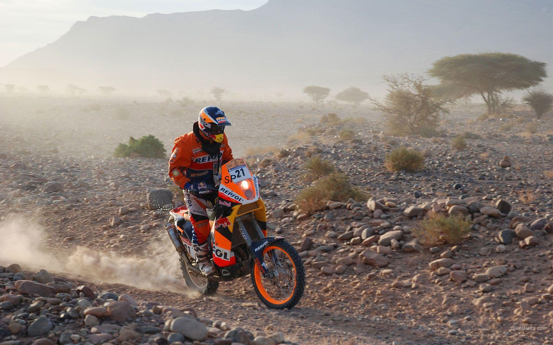 KTM Dakar 2007, Desktop wallpapers #38929