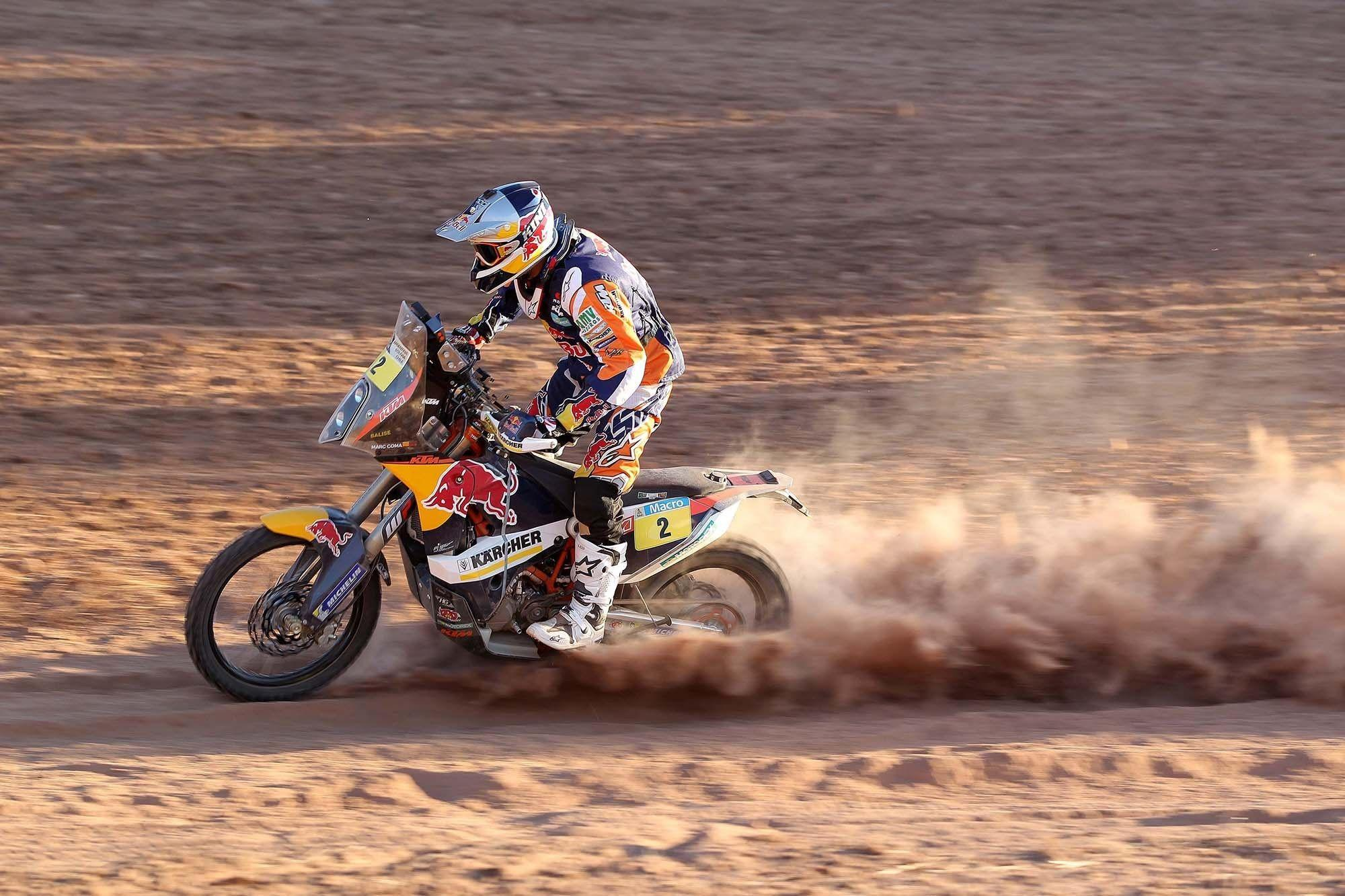 dakar rally | Marc Coma KTM Dakar Rally 2014 Winner Wallpaper ...