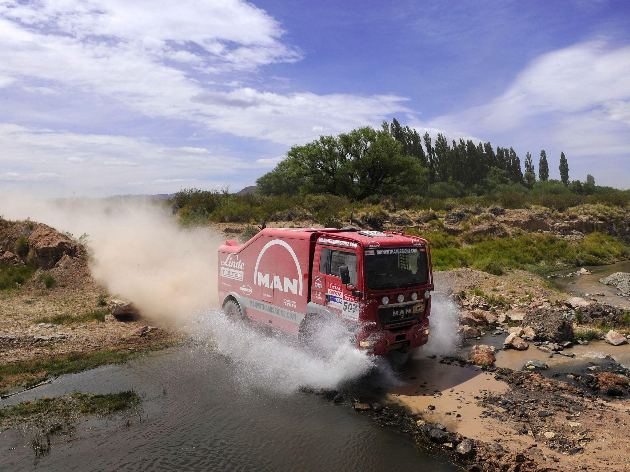 2007 MAN TGS Rally Truck dakar 4x4 offroad race racing fs ...