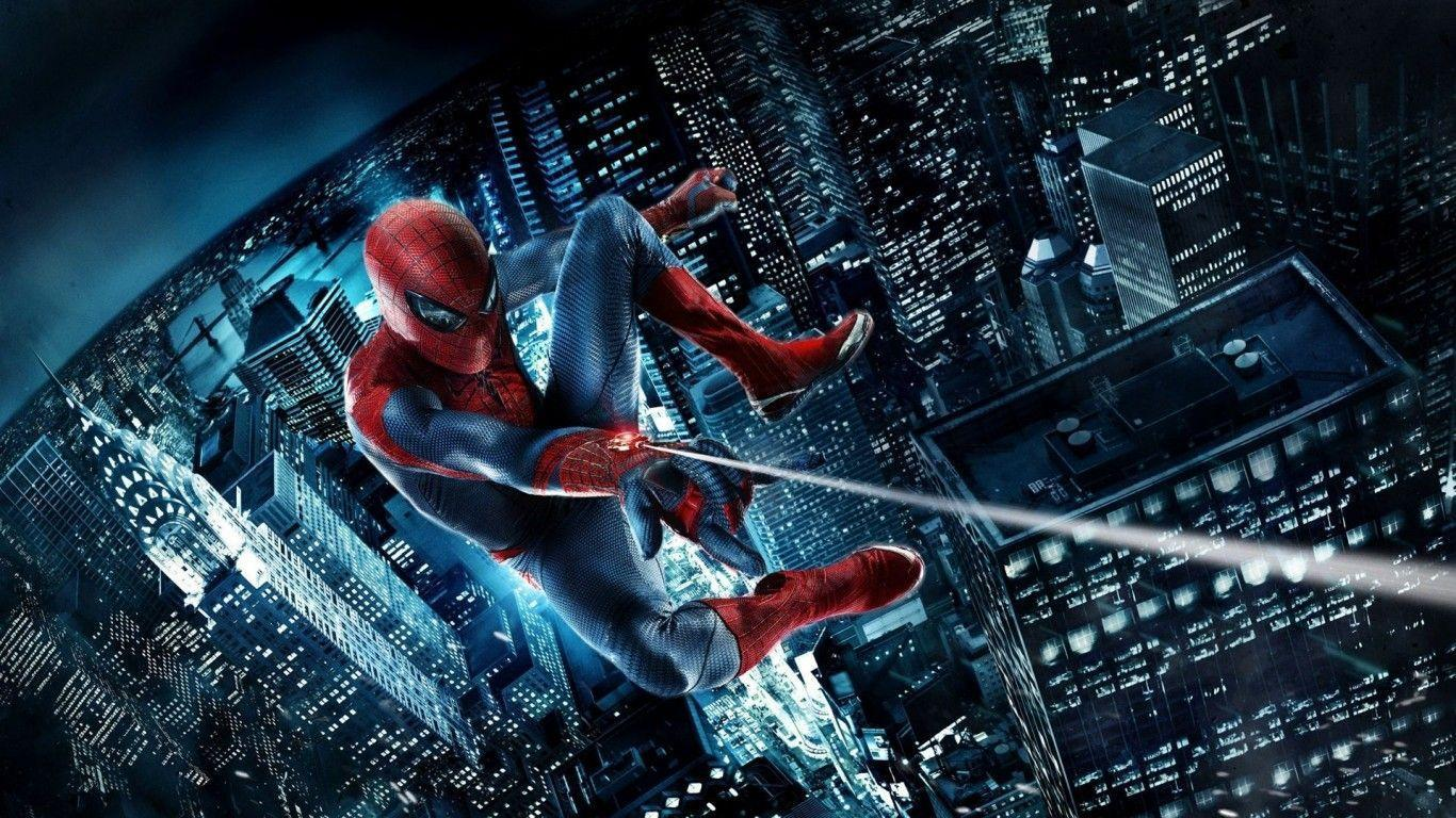 The Amazing SpiderMan Movie Poster Wallpaper by 1366×768 HD ...