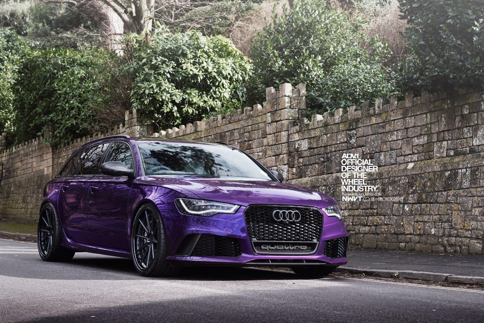 Audi, RS6, Audi RS4 Avant, Purple, ADV.1, ADV.1 Wheels, Quattro ...