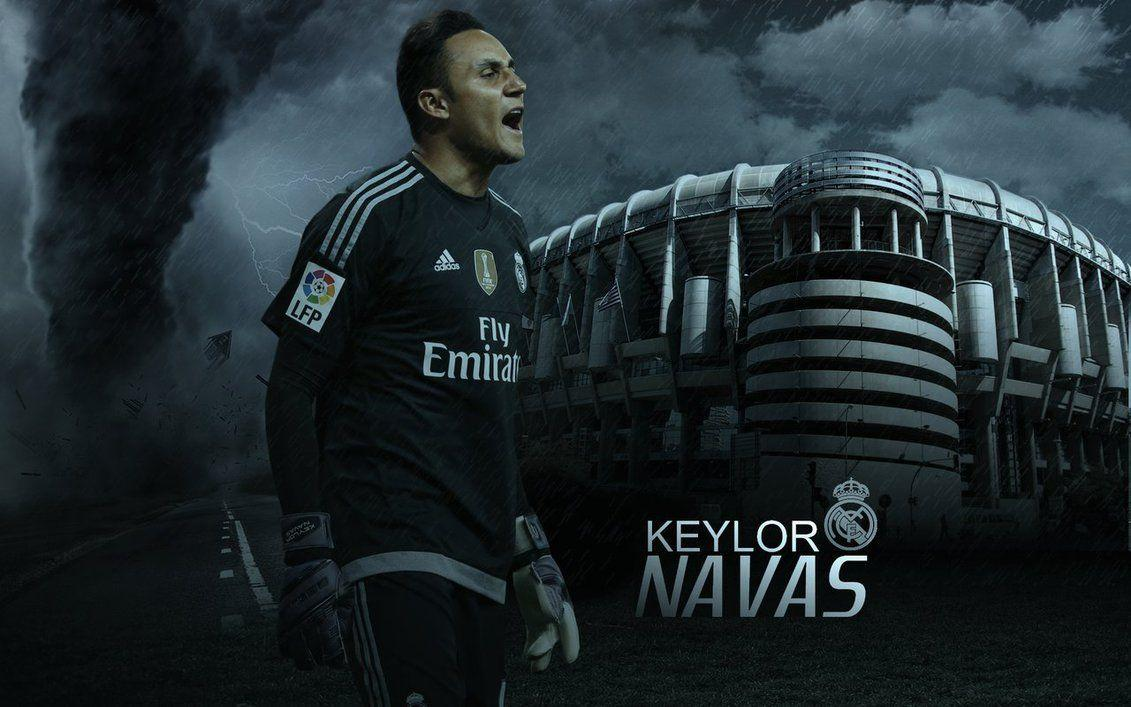 Keylor Navas Wallpaper 2015-16 by ChrisRamos4 on DeviantArt