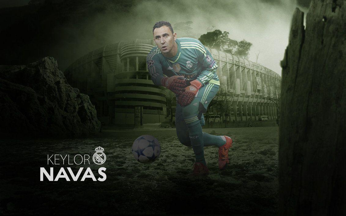 Keylor Navas Wallpaper 2015/16 by ChrisRamos4 on DeviantArt