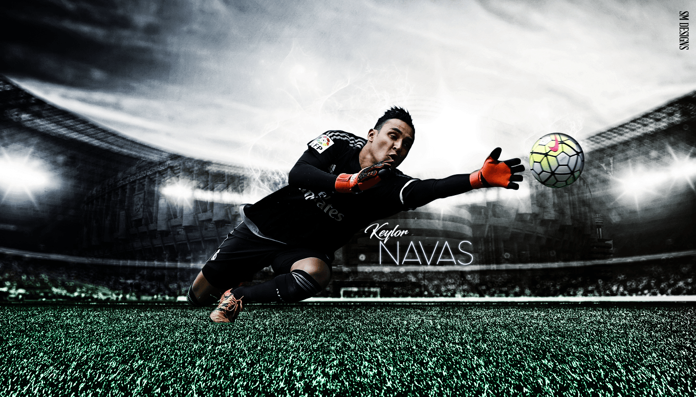 Keylor Navas Wallpaper Shivam by ShivamMathers on DeviantArt